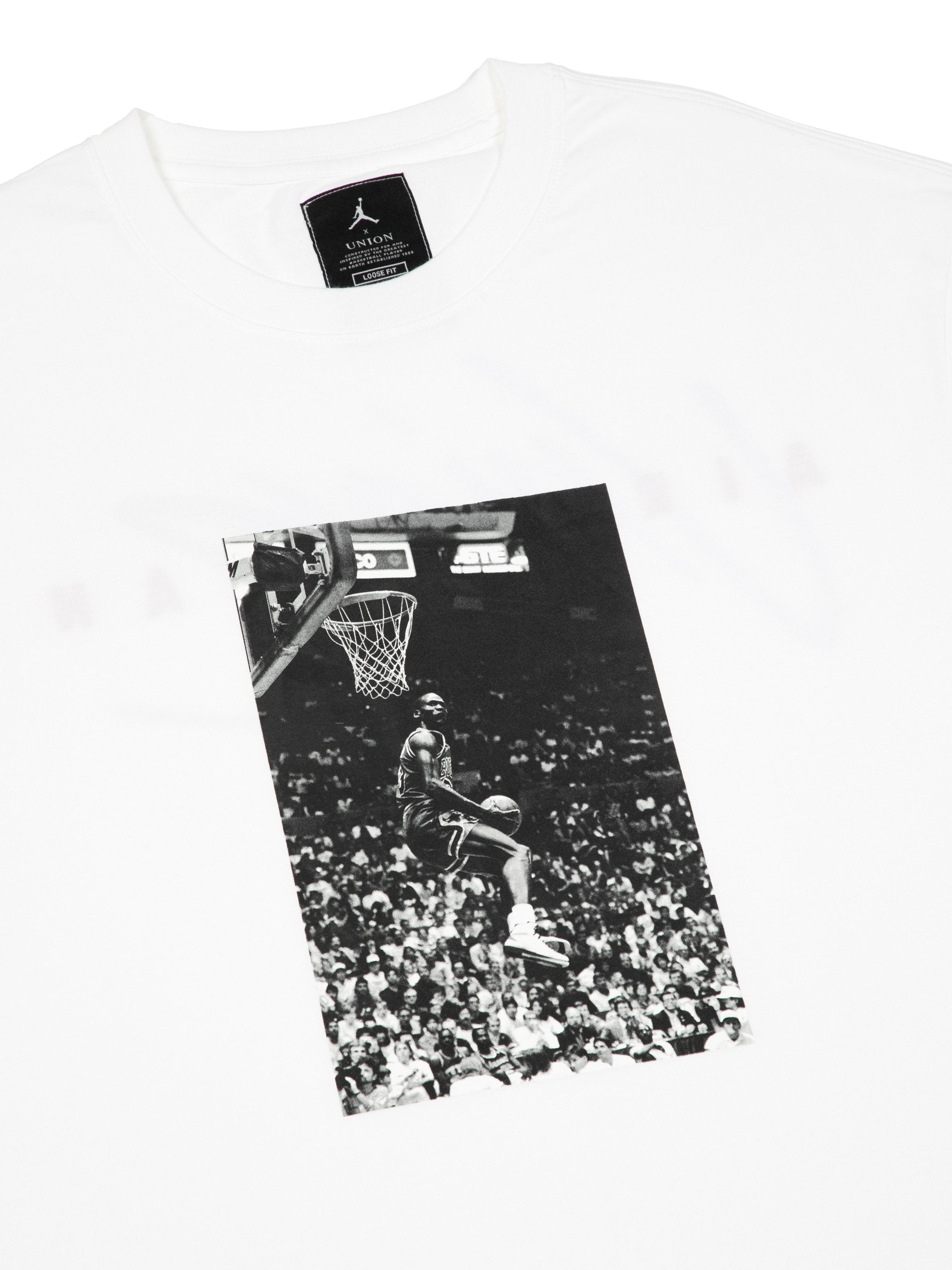 White Reverse Dunk T-Shirt 2