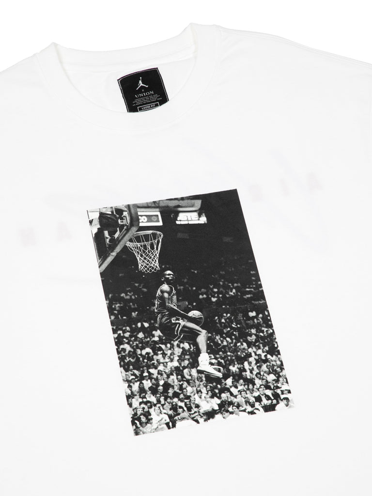 White Reverse Dunk T-Shirt 216246529884237