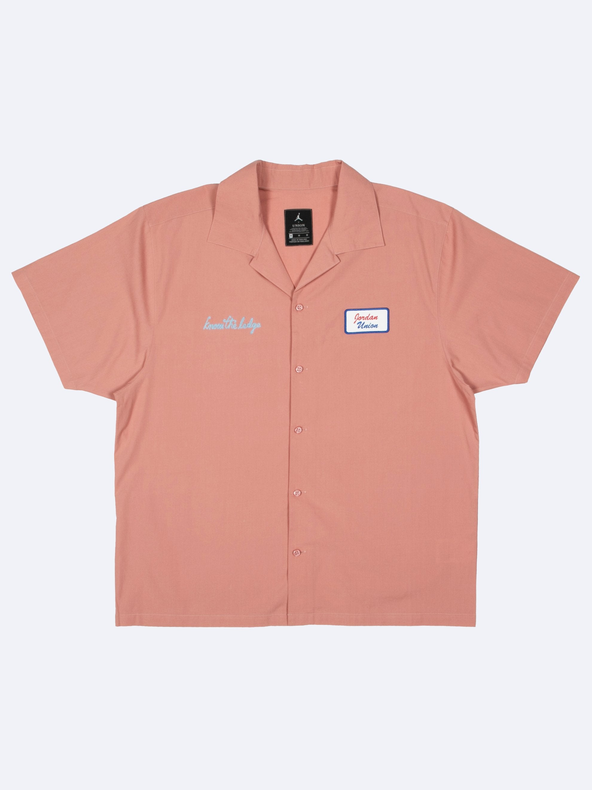 Rustic Pink Mechanic Shirt 1