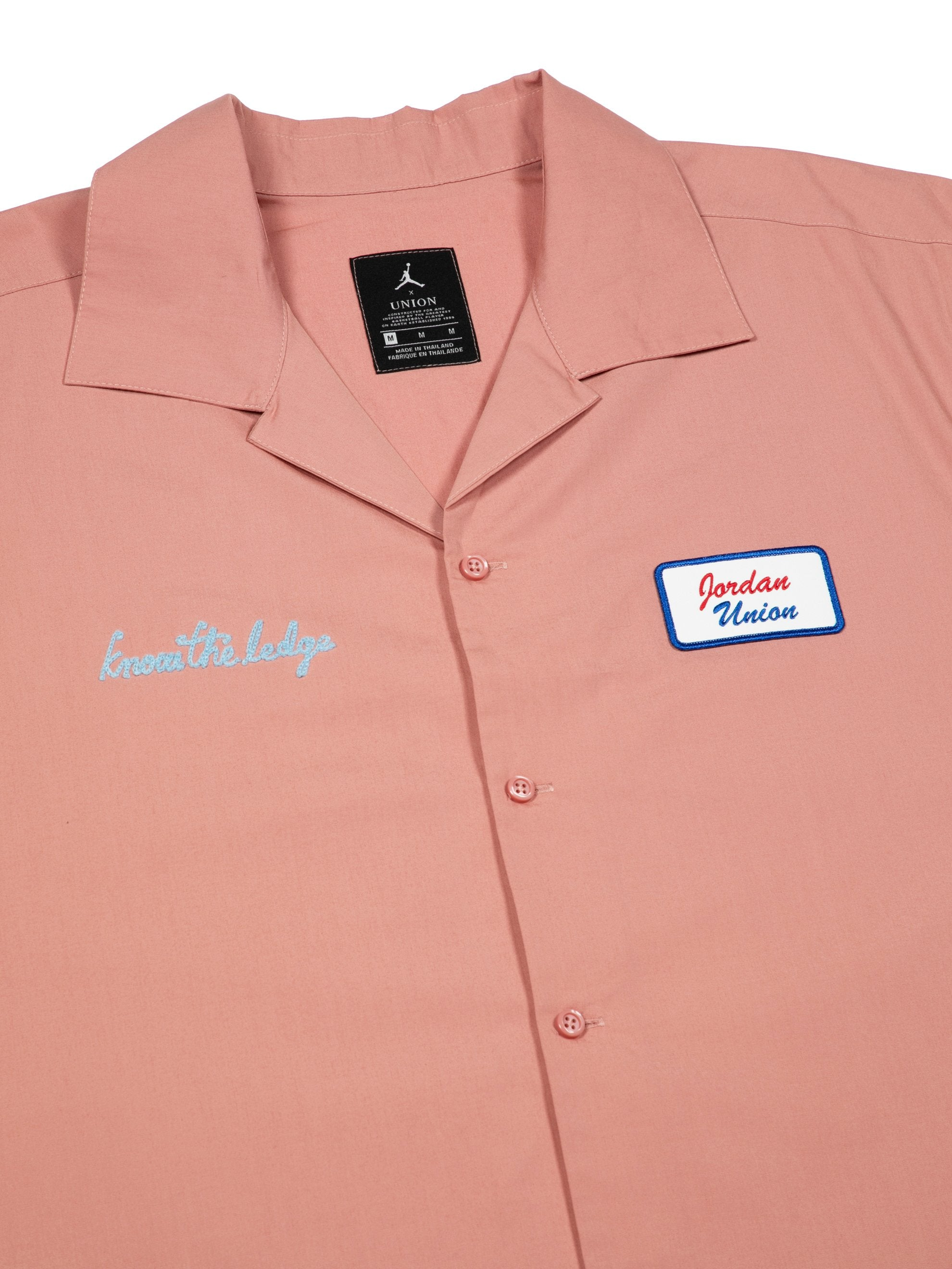 Rustic Pink Mechanic Shirt 2
