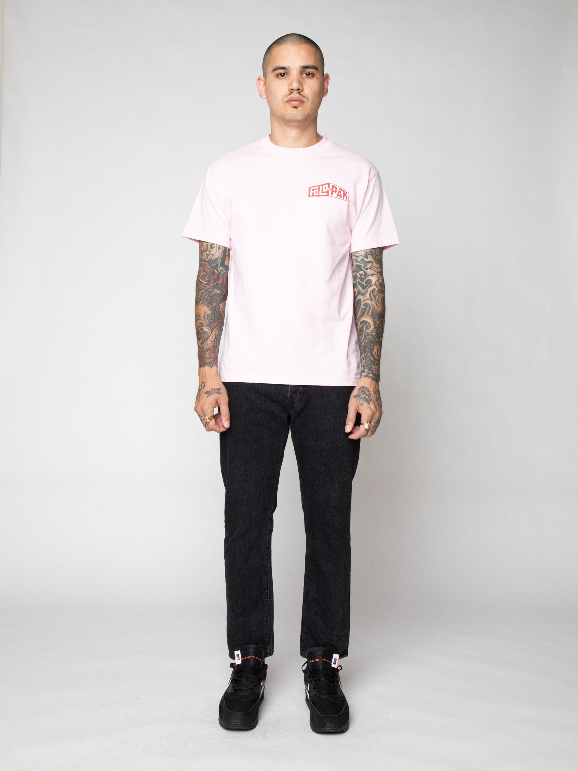 Pink Pro Model Underwear T-Shirt 3