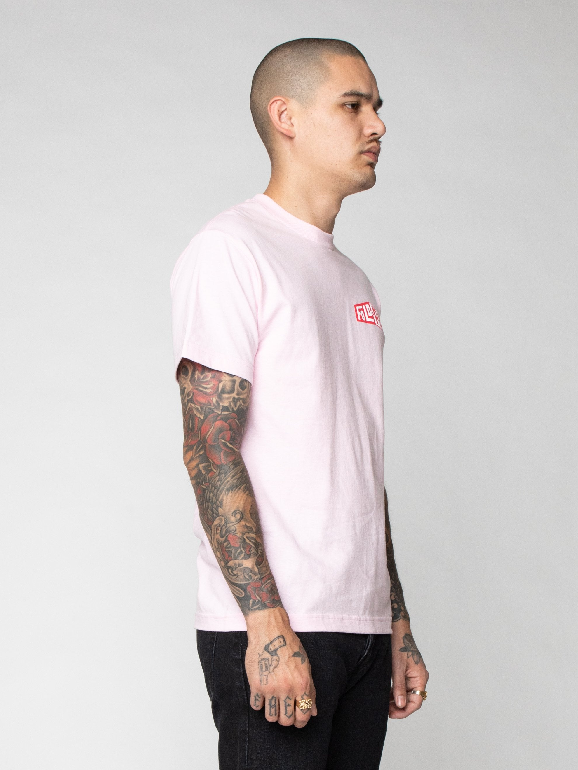 Pink Pro Model Underwear T-Shirt 4