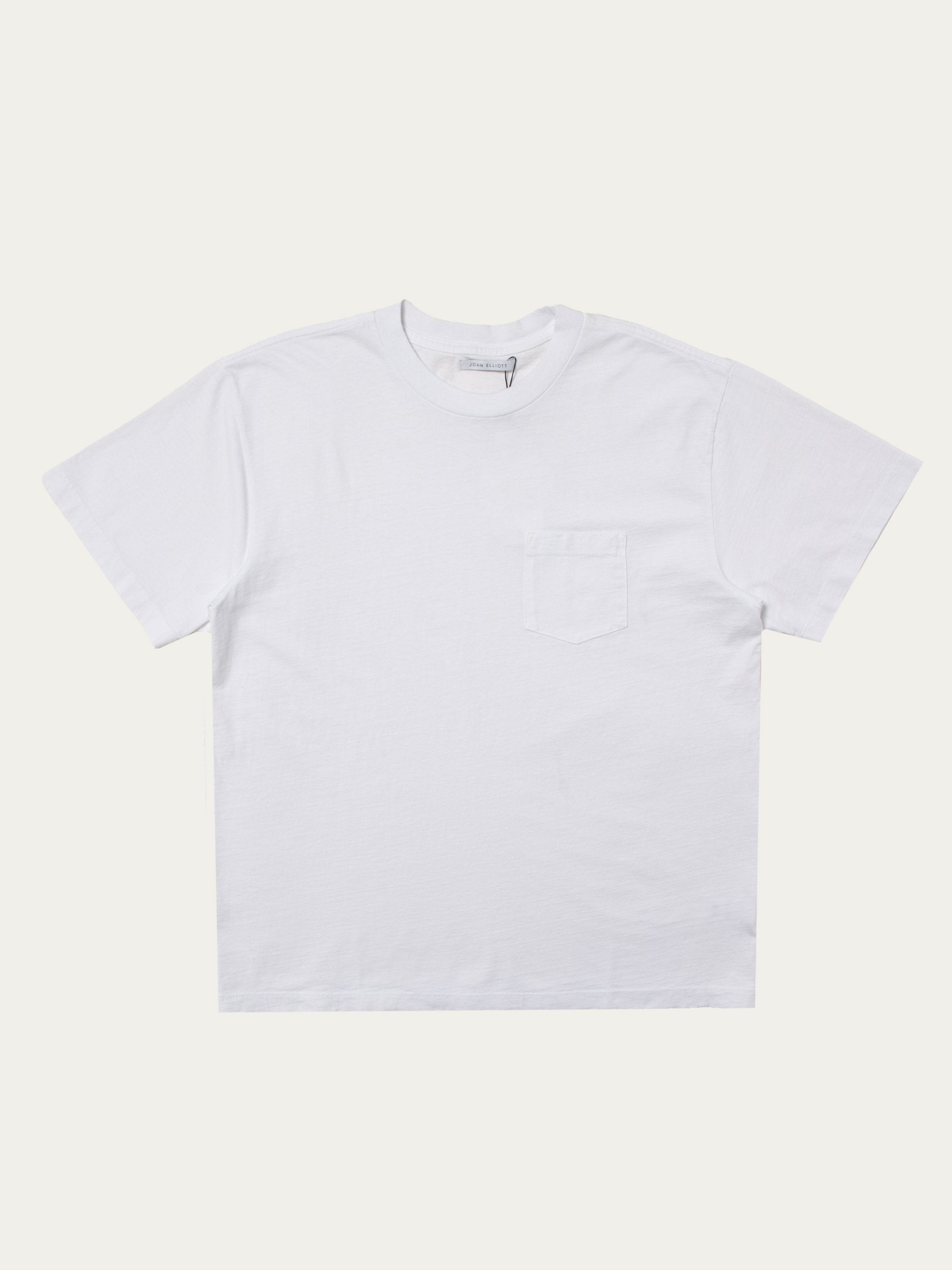 White Lucky Pocket Tee 1