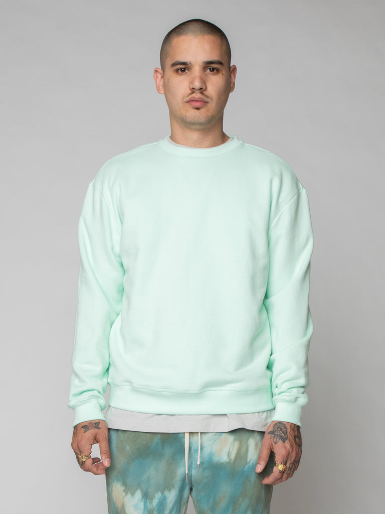 Mint Oversized Crewneck Pullover 216259727196237