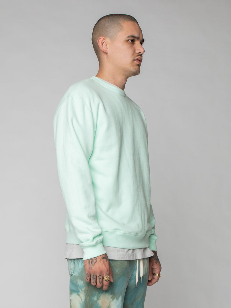 Mint Oversized Crewneck Pullover 416259727654989