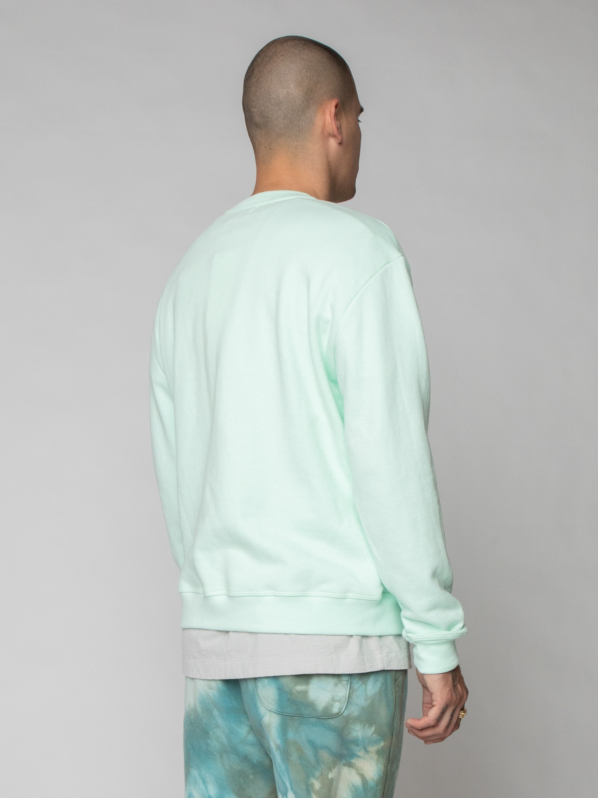 Mint Oversized Crewneck Pullover 5