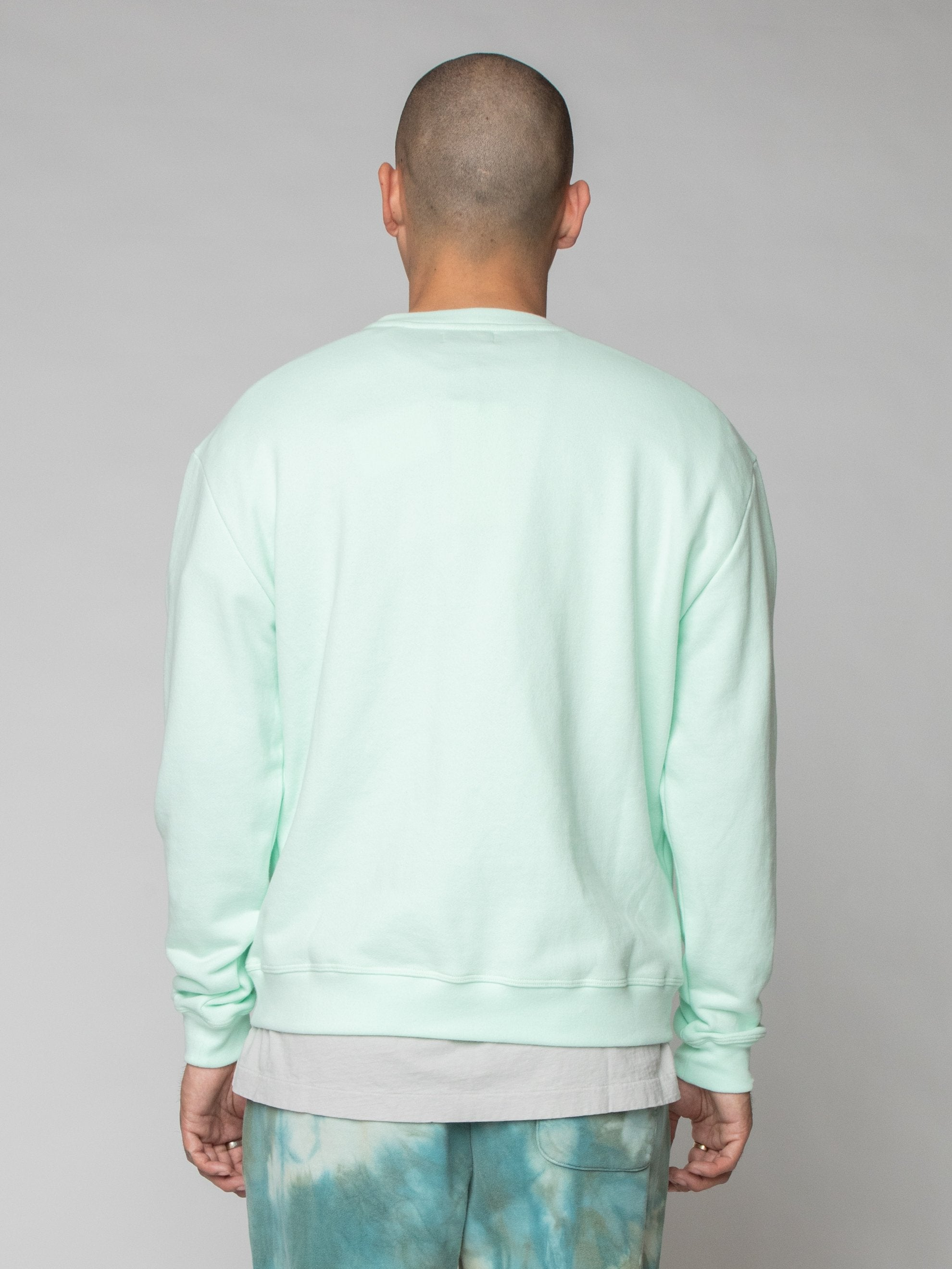 Mint Oversized Crewneck Pullover 6