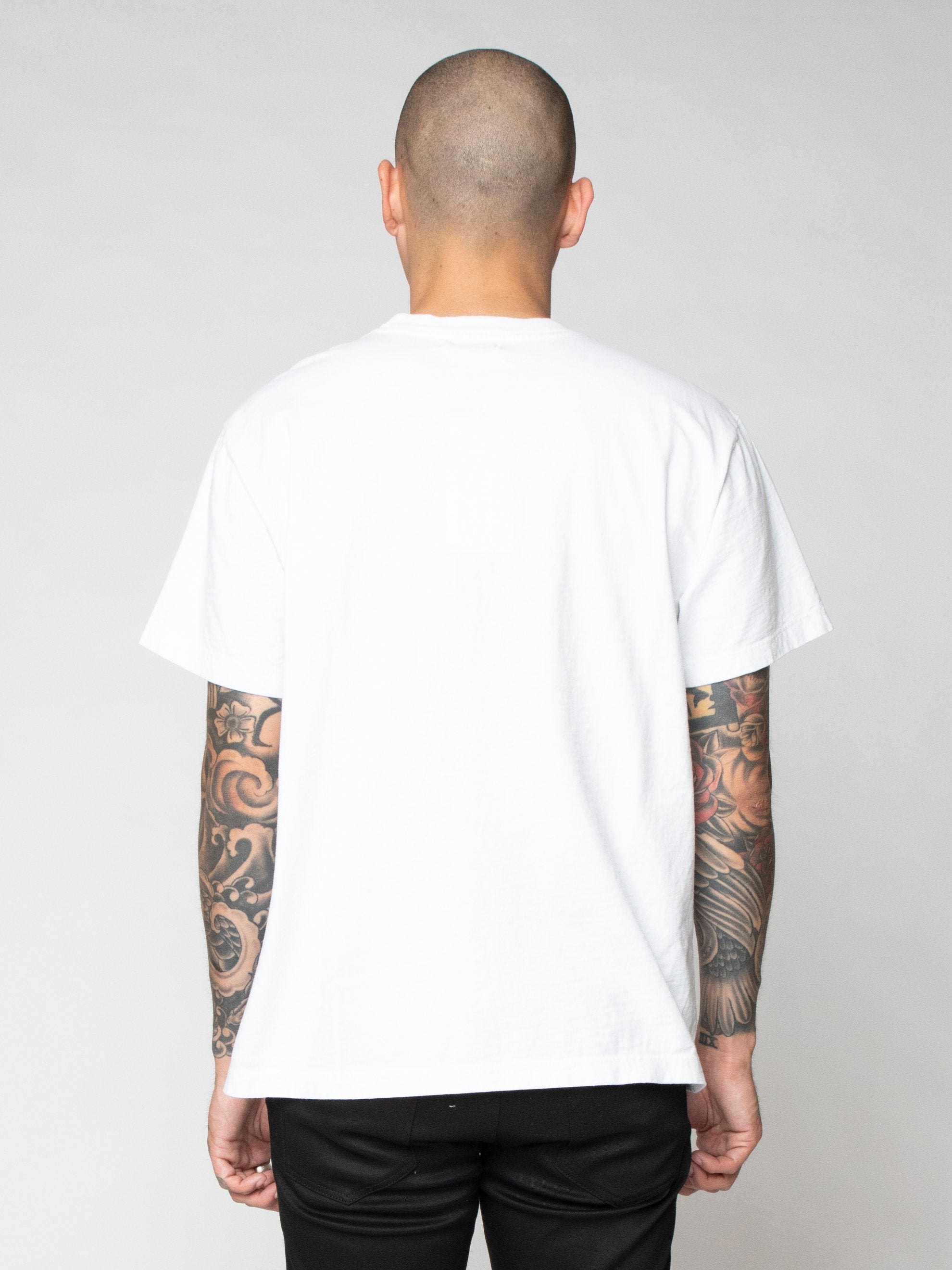 White Lucky Pocket Tee 6