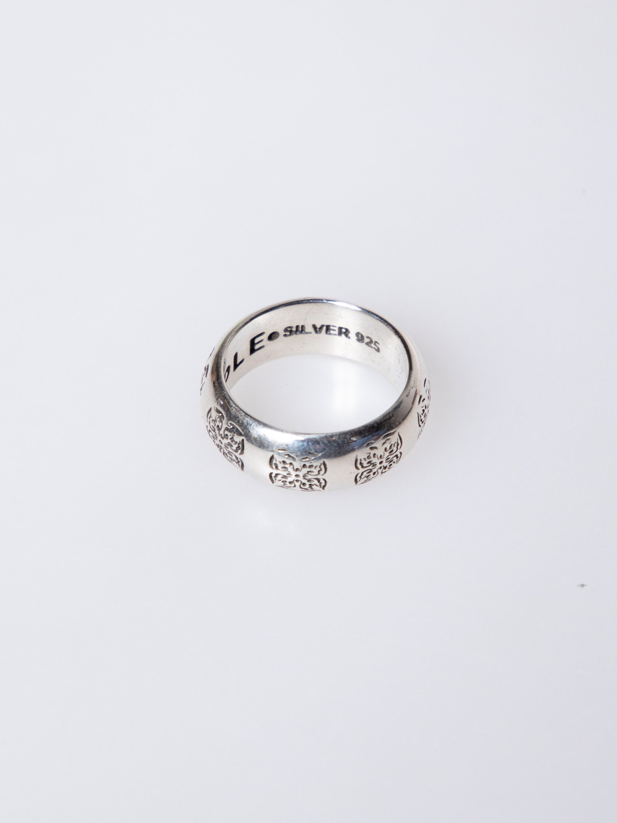 Silver .925 Flower Ring 2
