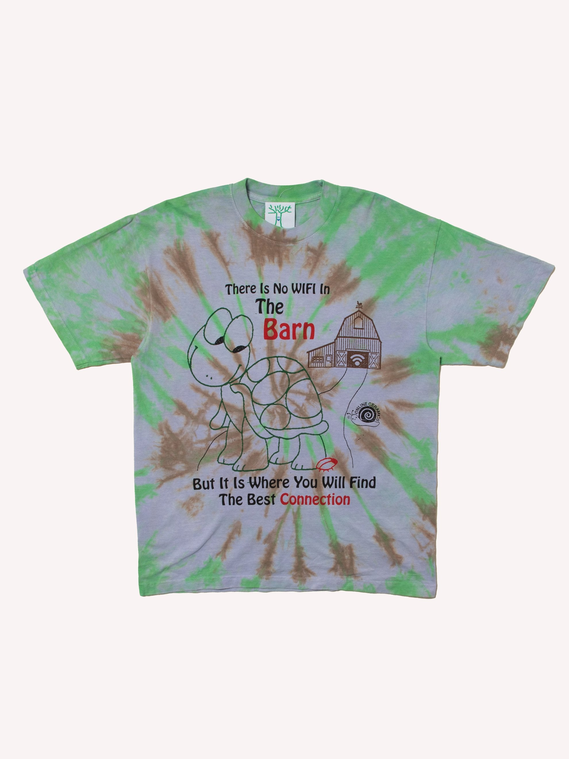 Tie Dye Barn Connection Tee 1