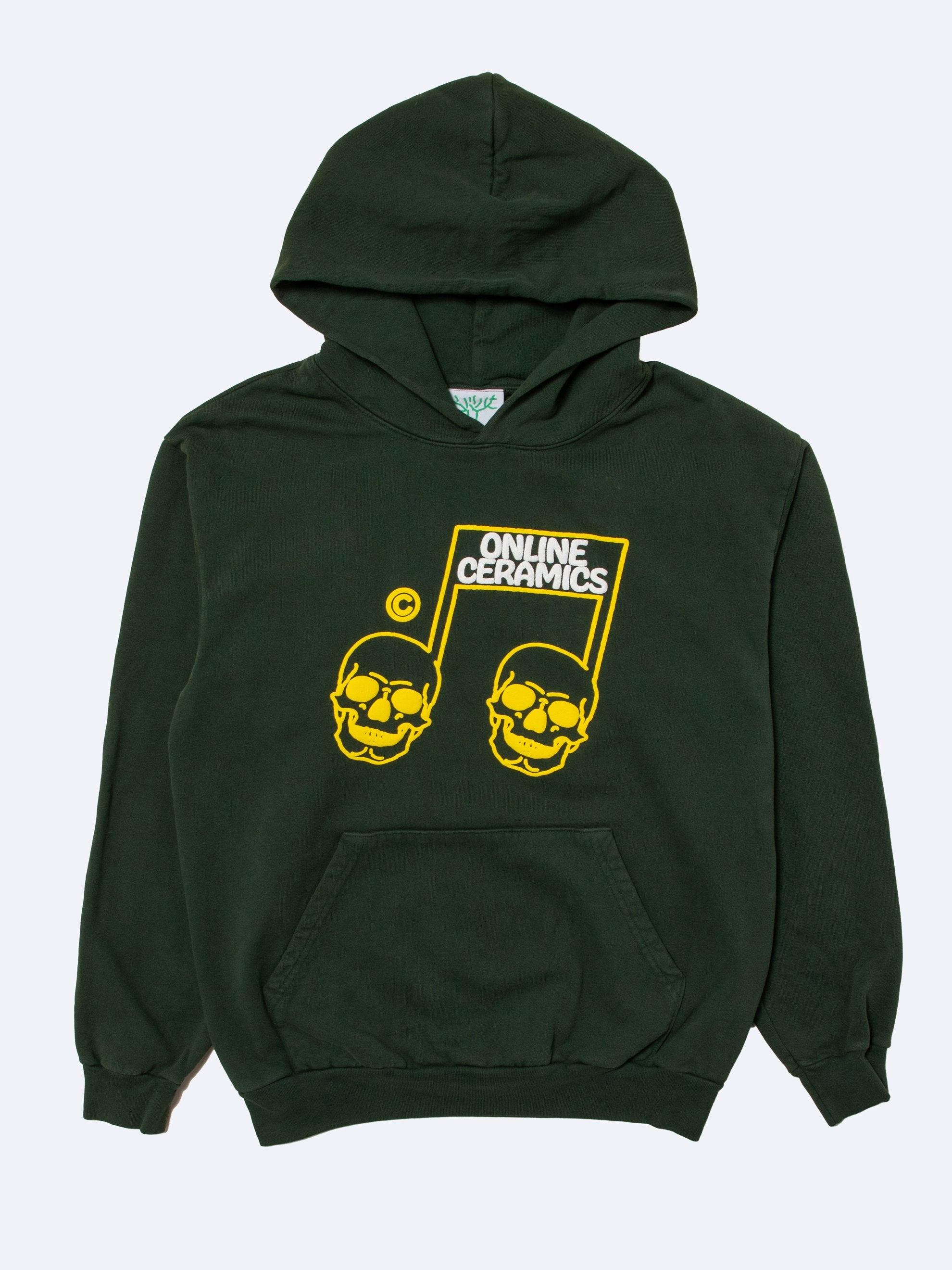 Green The Sweet Sound of Death Hoodie 1