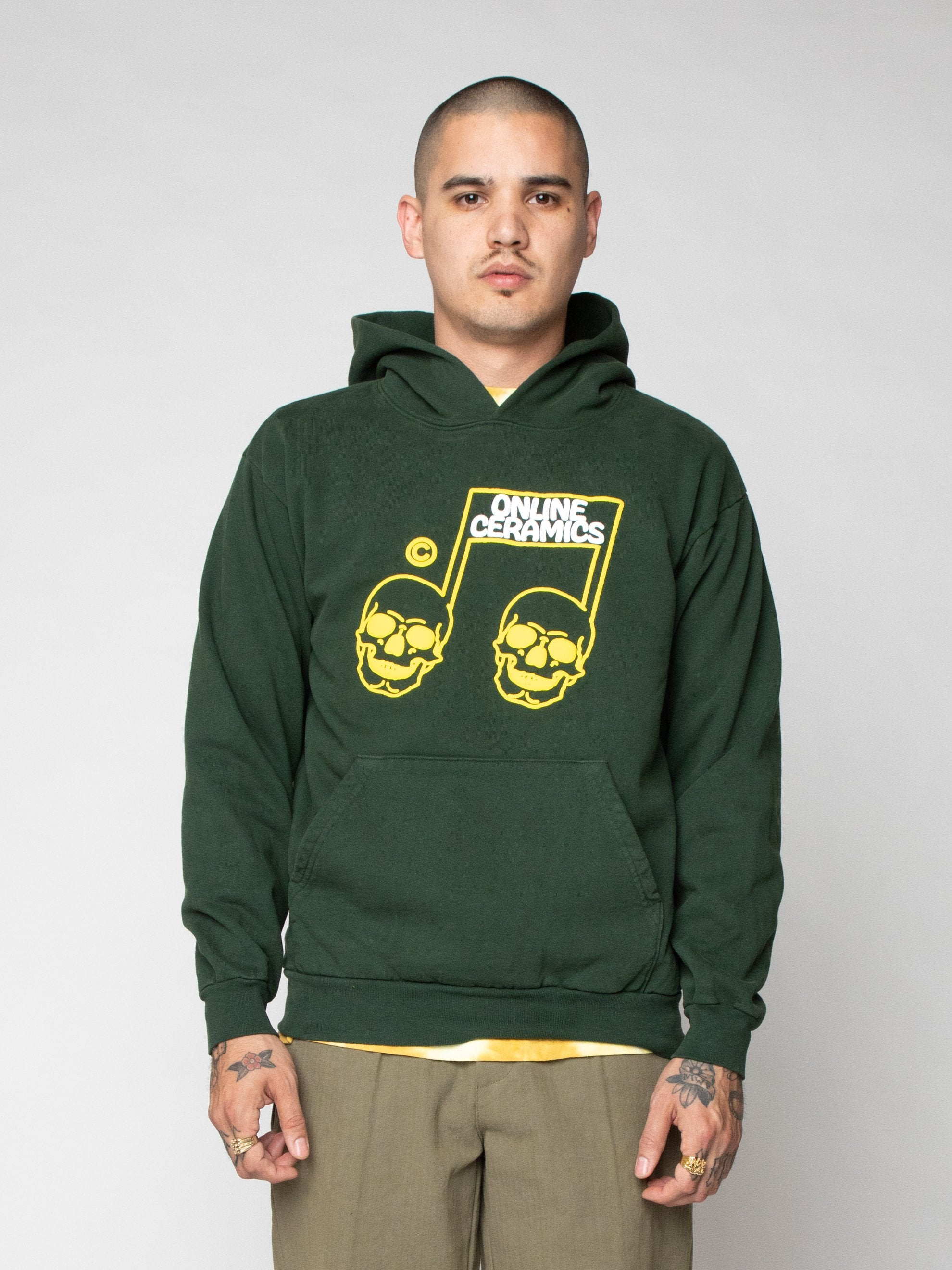 Green The Sweet Sound of Death Hoodie 2