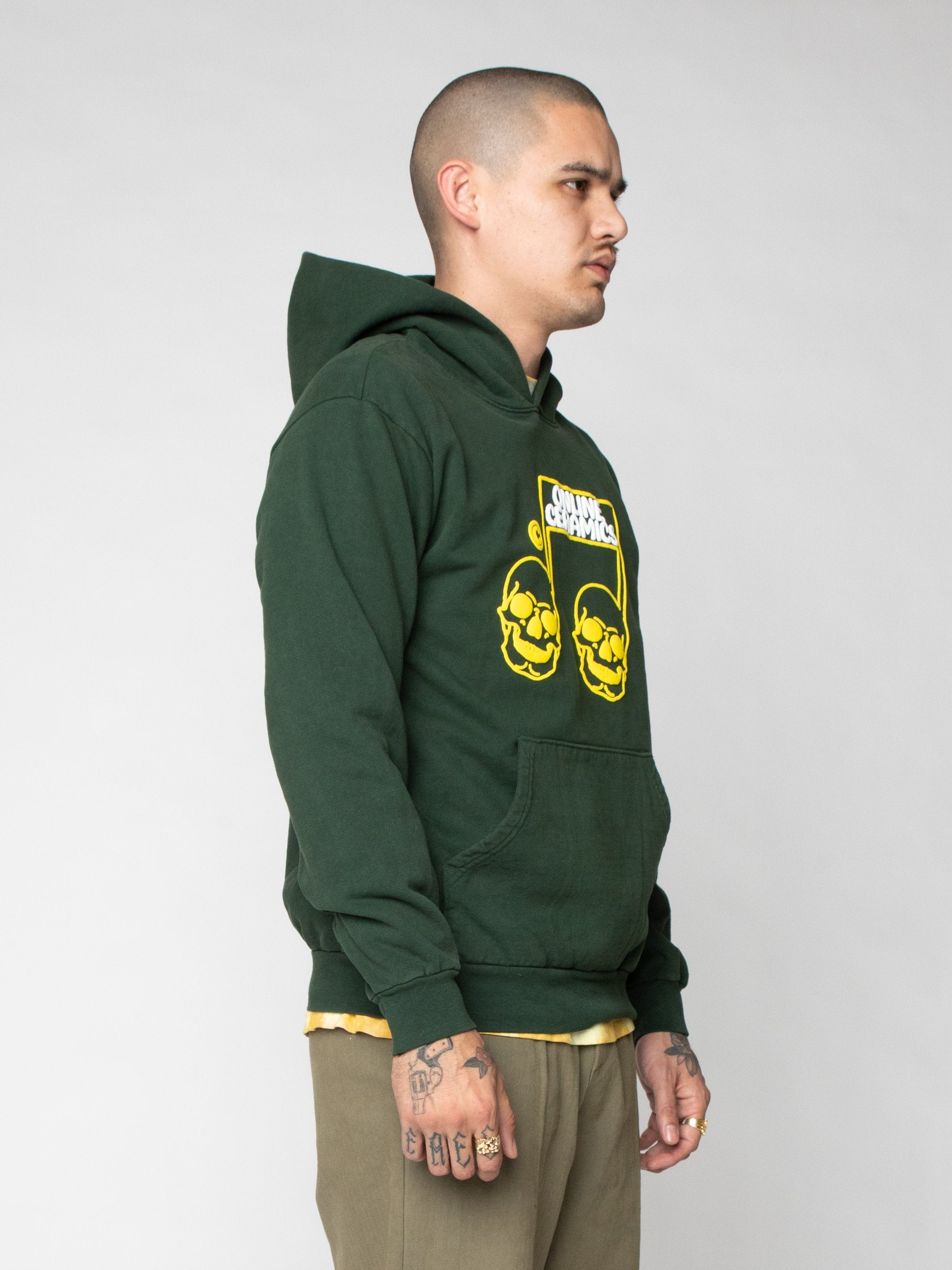 Green The Sweet Sound of Death Hoodie 4