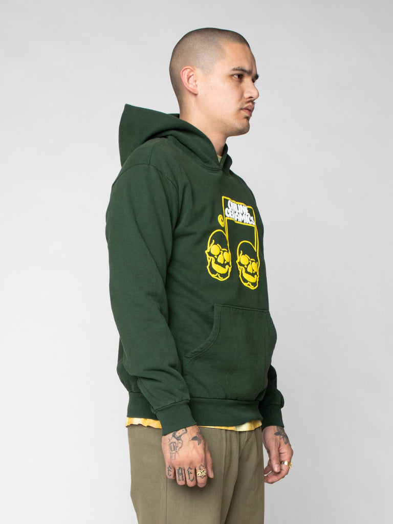 Green The Sweet Sound of Death Hoodie 416259612704845