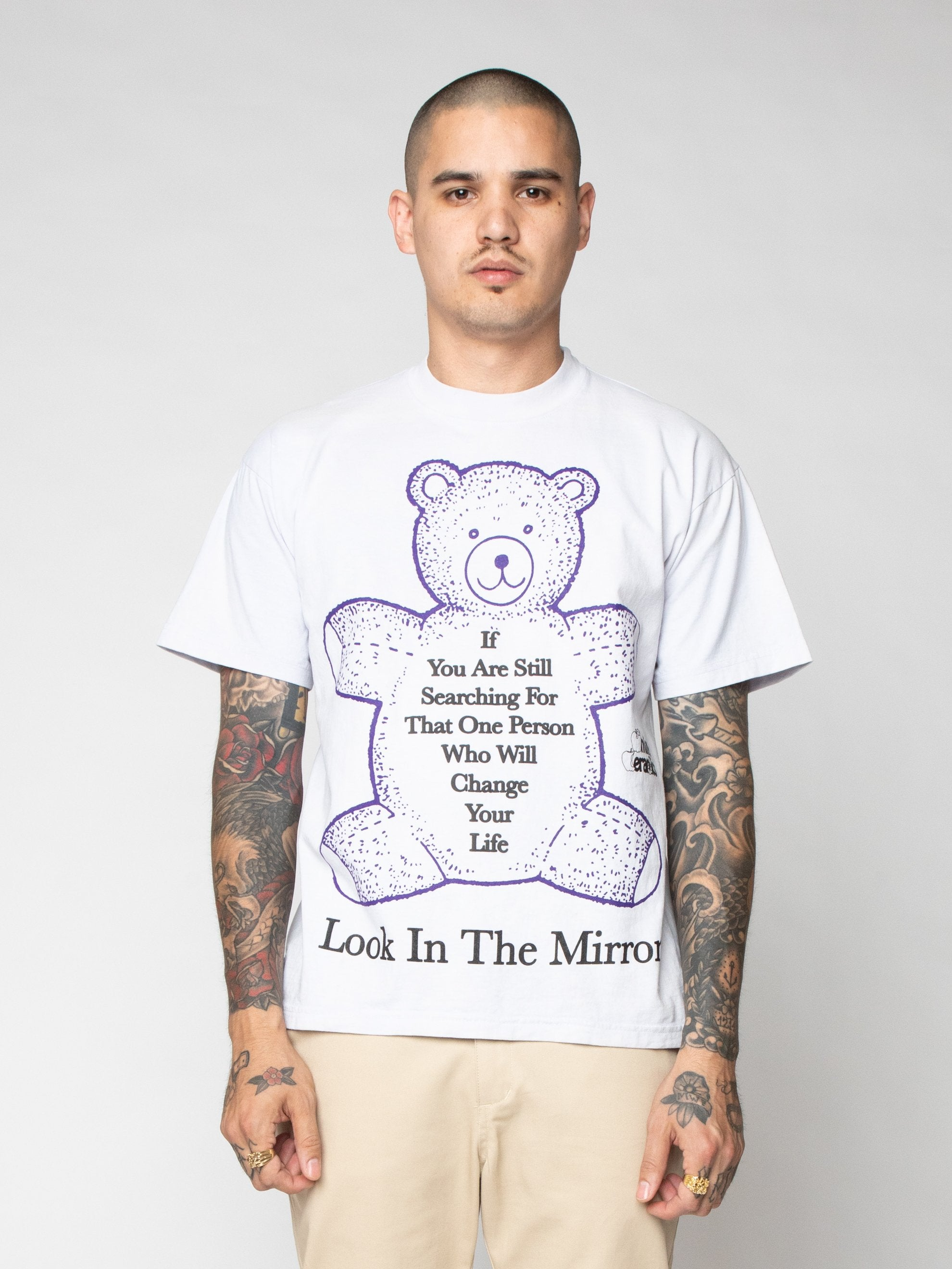 Purple Look In The Mirror Tee 2