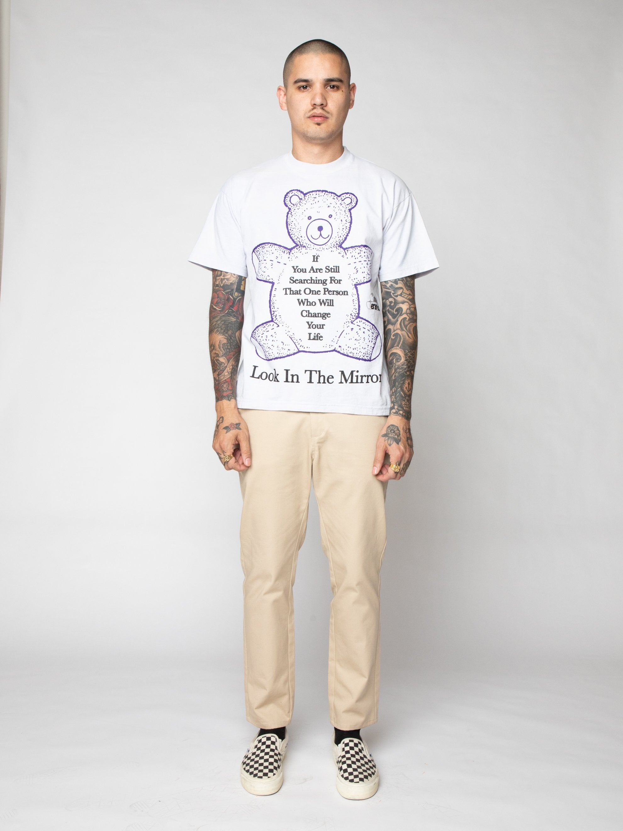 Purple Look In The Mirror Tee 3