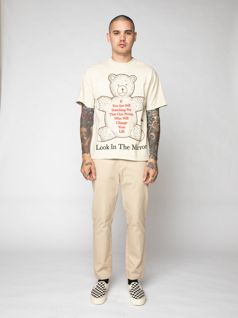 White Look In The Mirror Tee 316259595370573