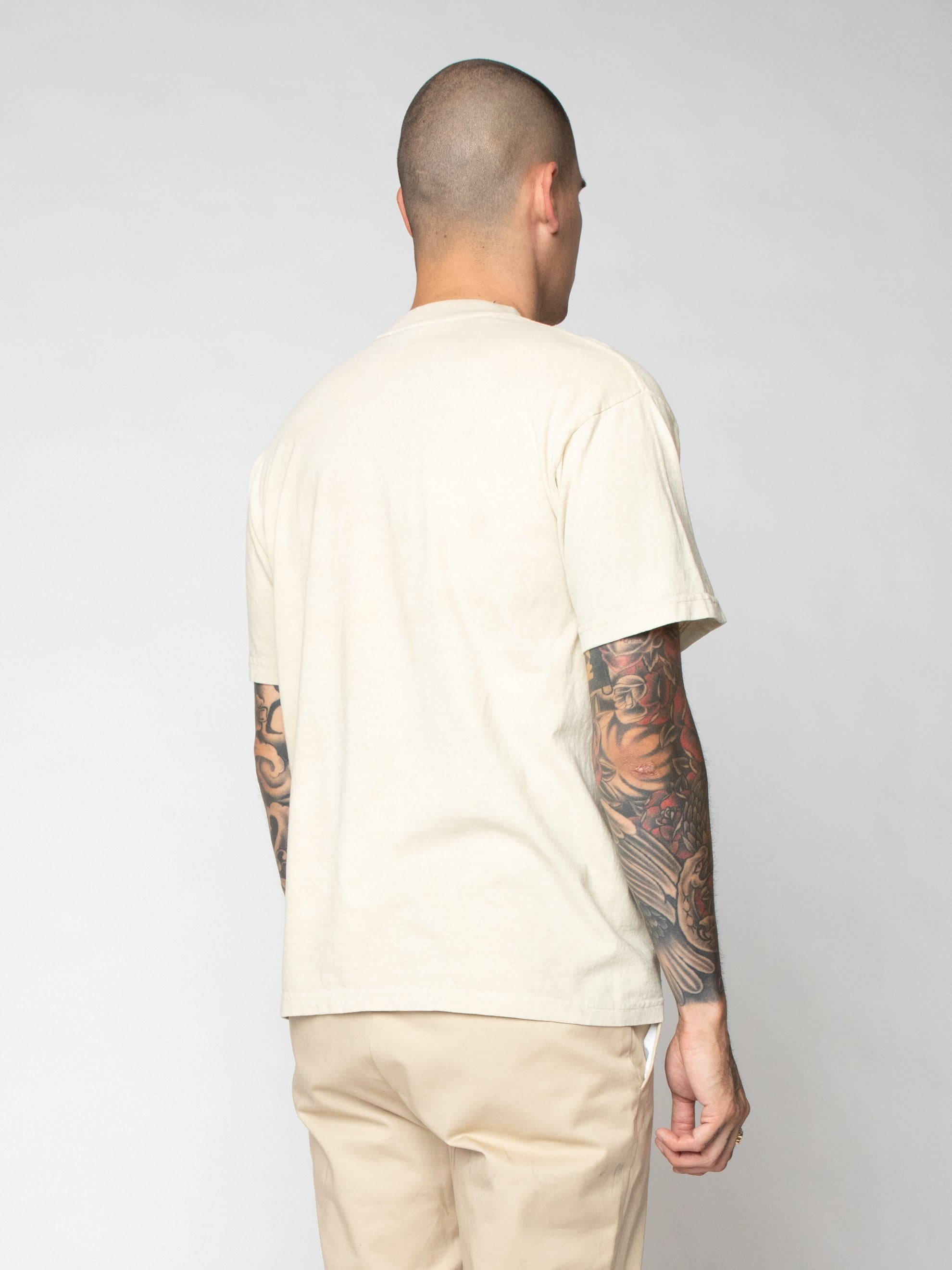 White Look In The Mirror Tee 5
