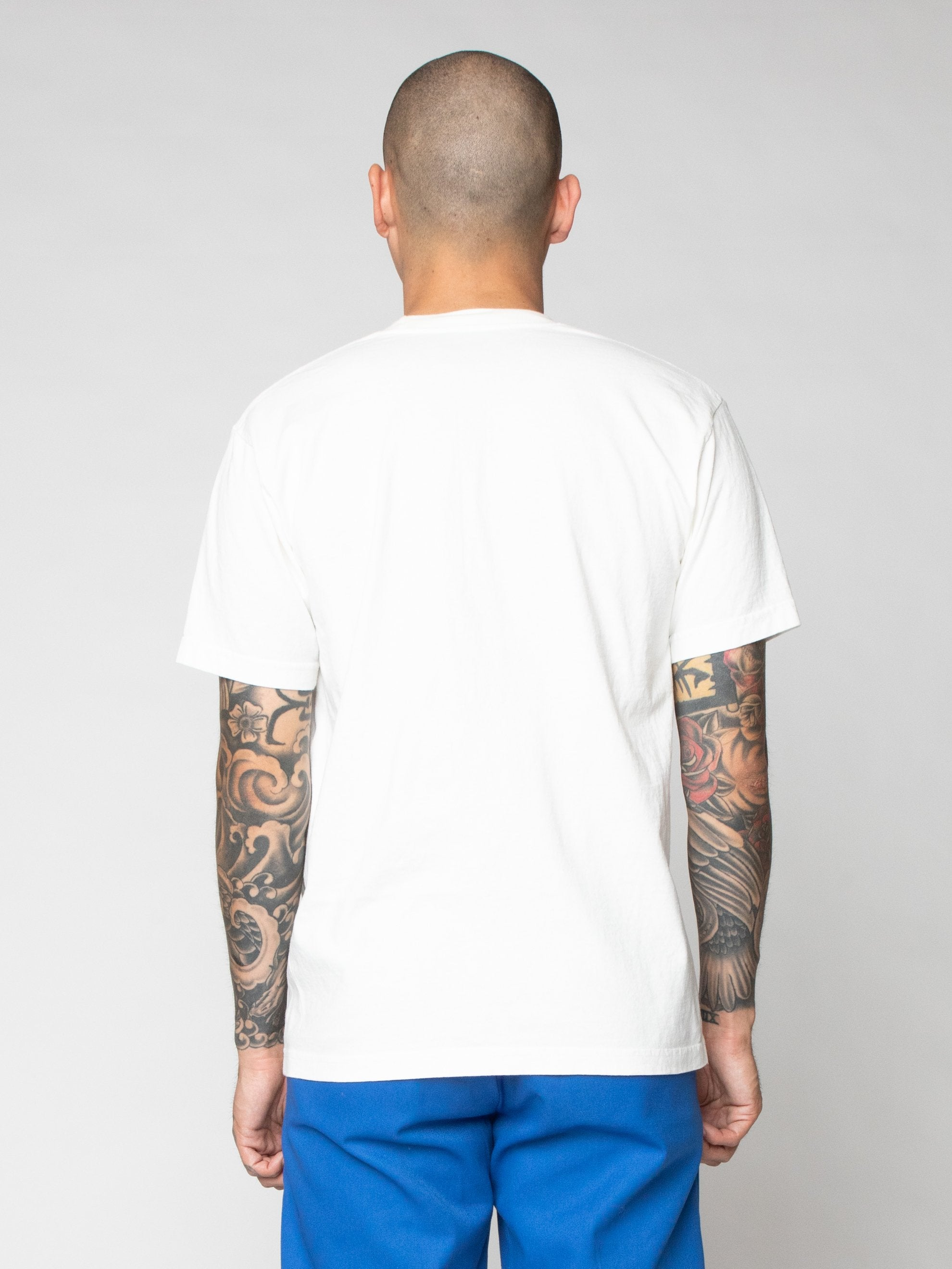 White Be Outstanding In Your Field Tee 6
