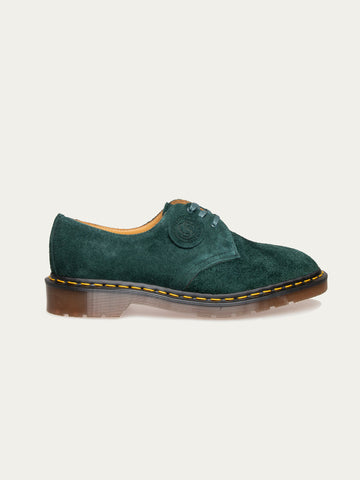 Green Night Desert Oasis Suede Shoes