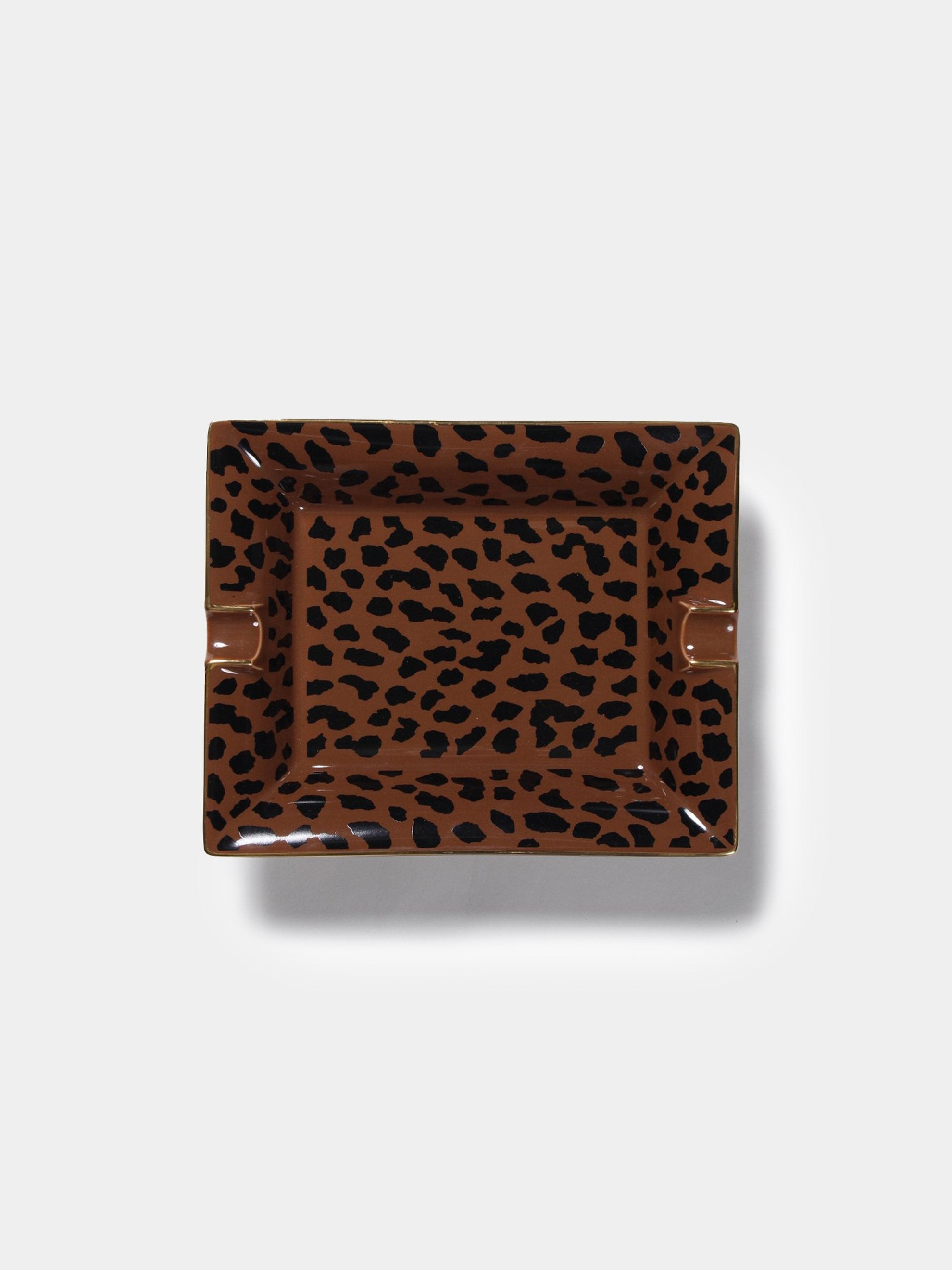 Brown Leopard Ashtray (Type-2) 1