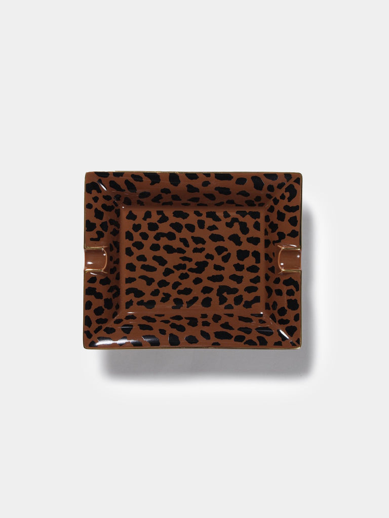 Leopard Ashtray (Type-2)