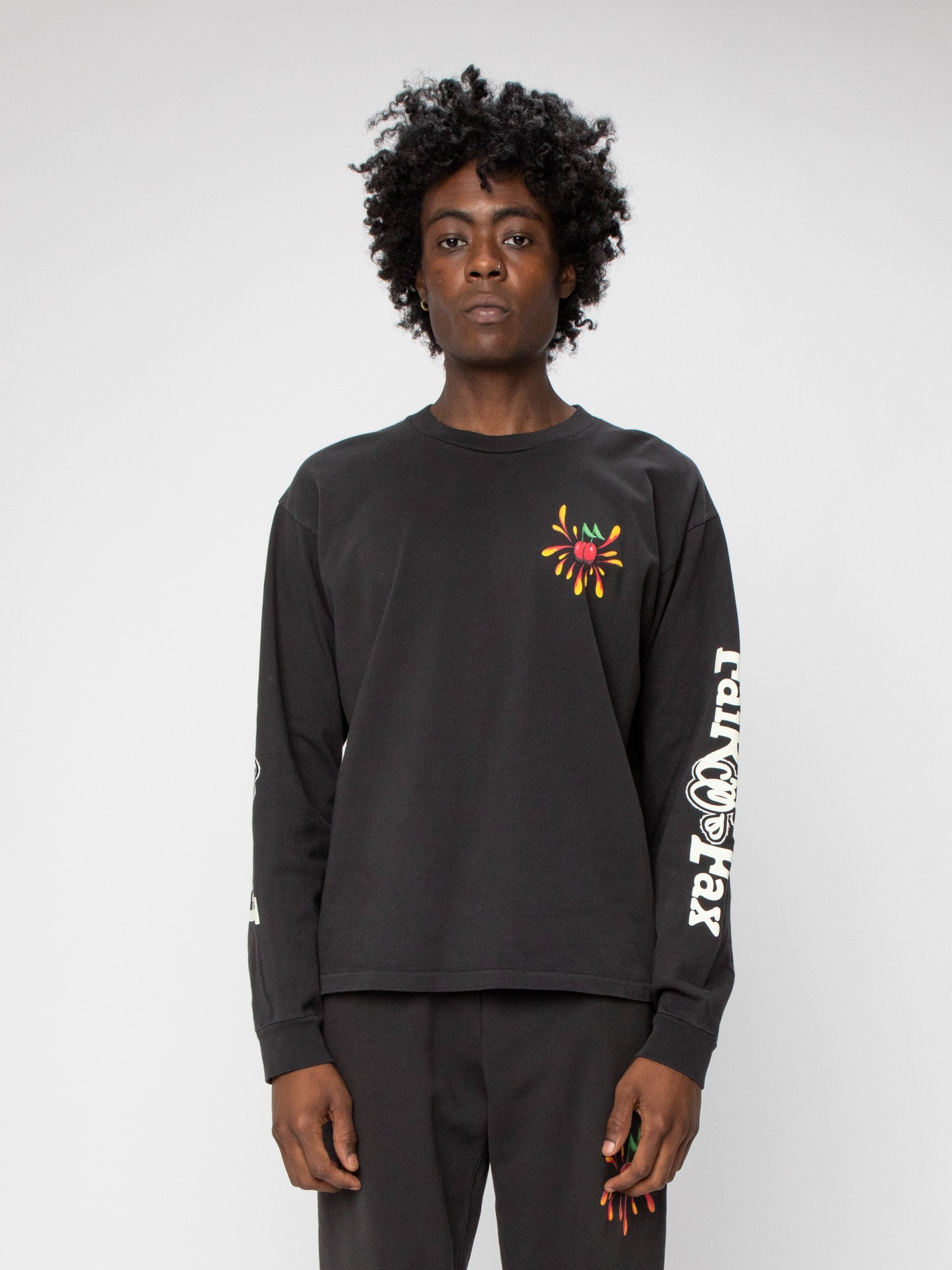 Black Fairfax Heavyweight L/S Shirt 2