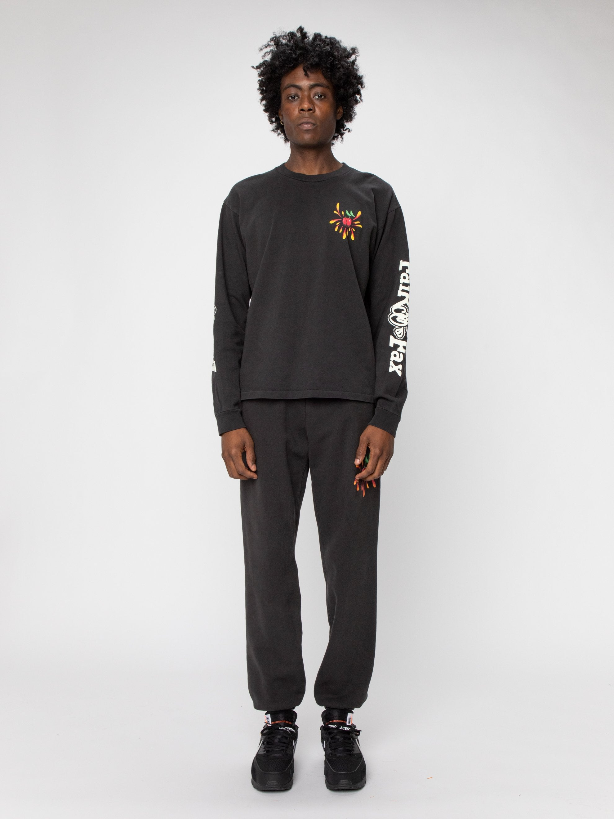 Black Fairfax Heavyweight L/S Shirt 3