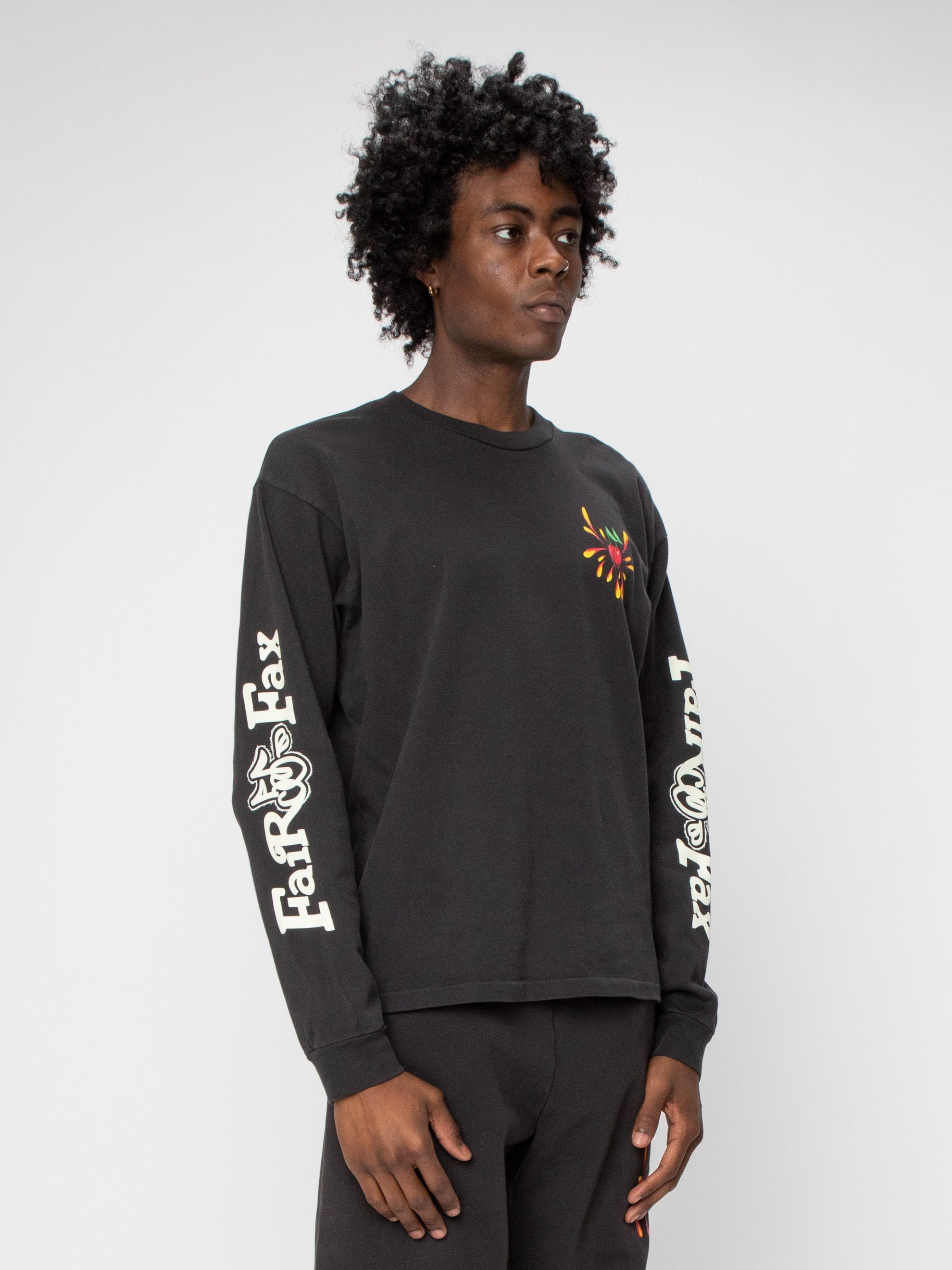 Black Fairfax Heavyweight L/S Shirt 4