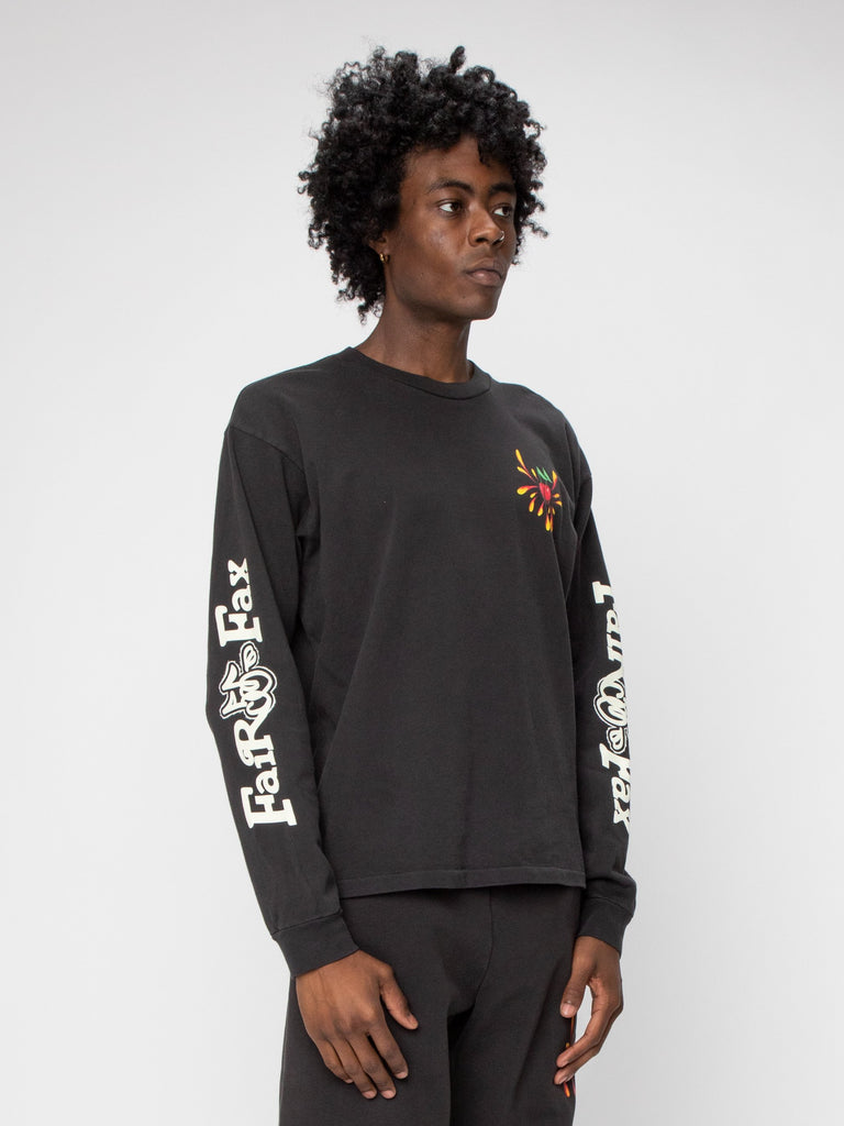 Black Fairfax Heavyweight L/S Shirt 416306719752269