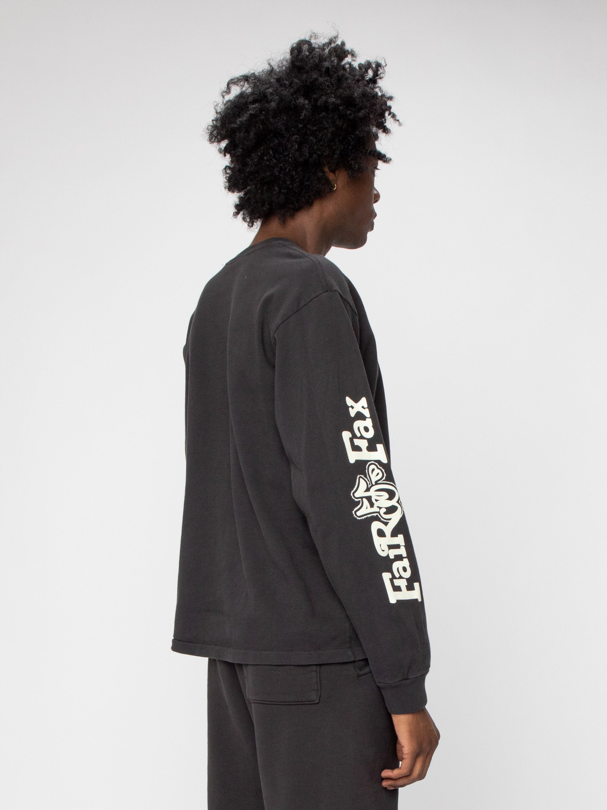 Black Fairfax Heavyweight L/S Shirt 5
