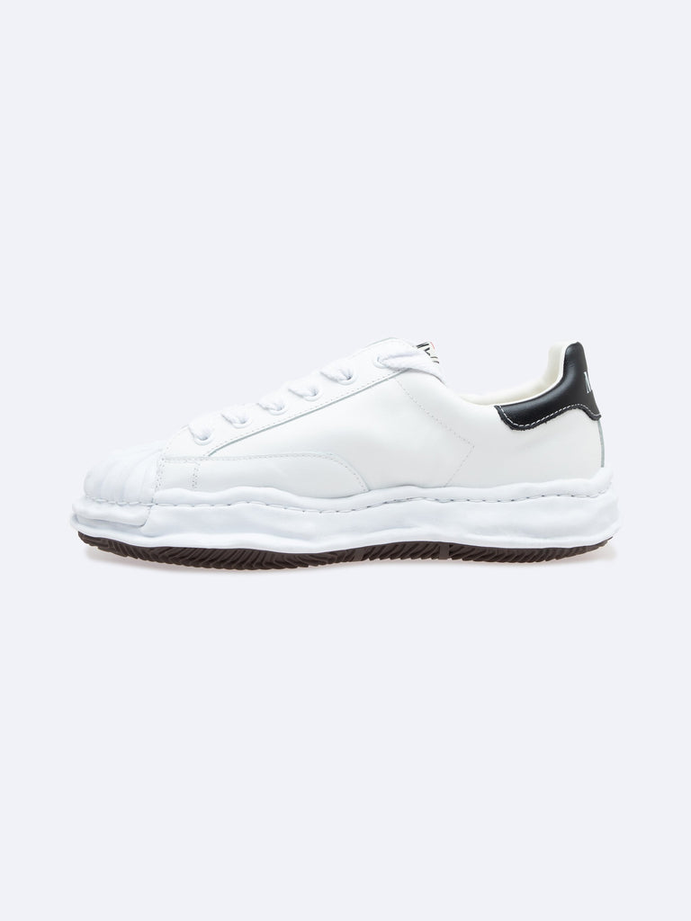 White Blakey Low Original Sole Leather Sneaker 216306718572621