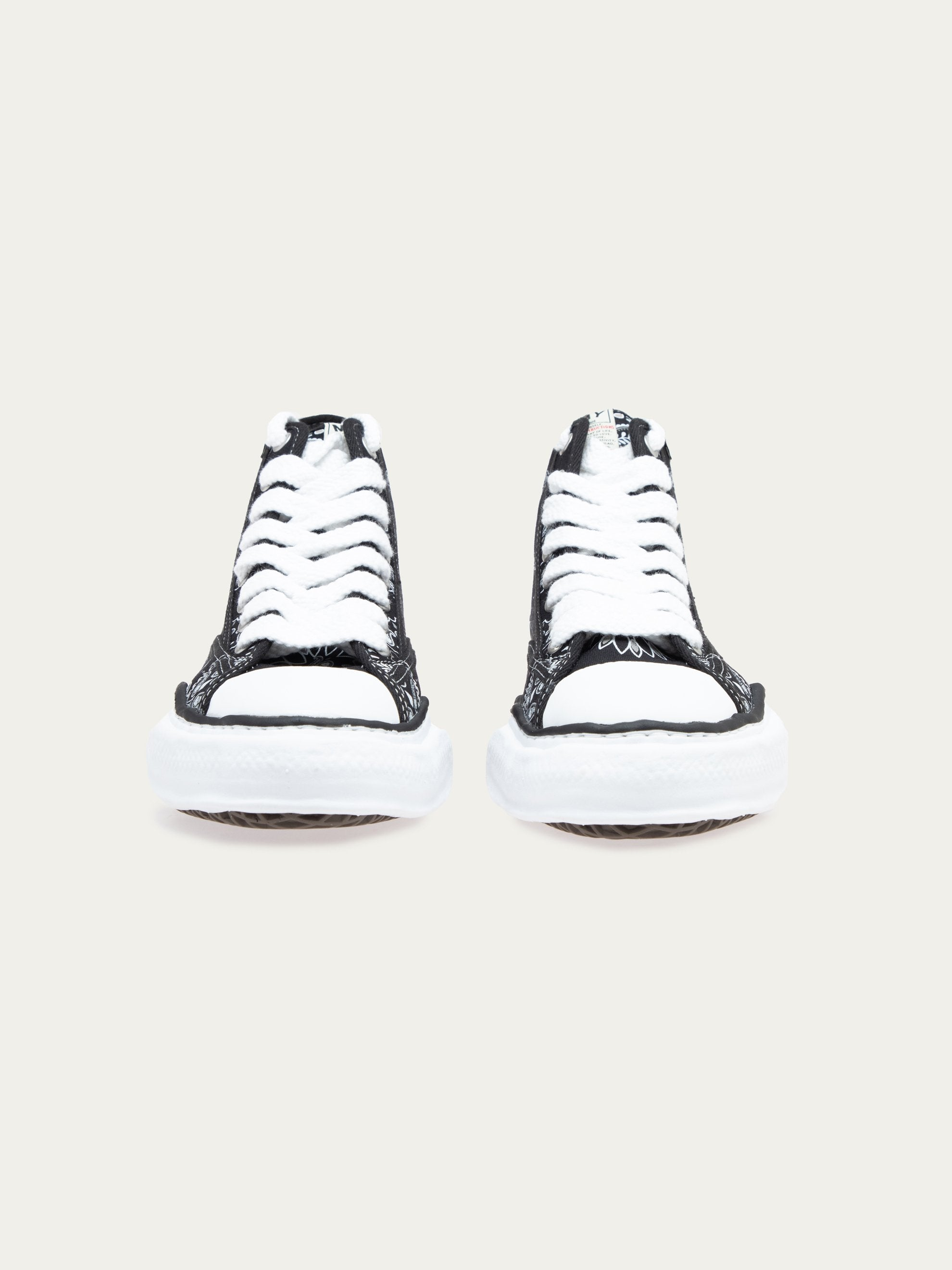 Black Peterson Hi Original Sole Bandana Printed Sneaker 4