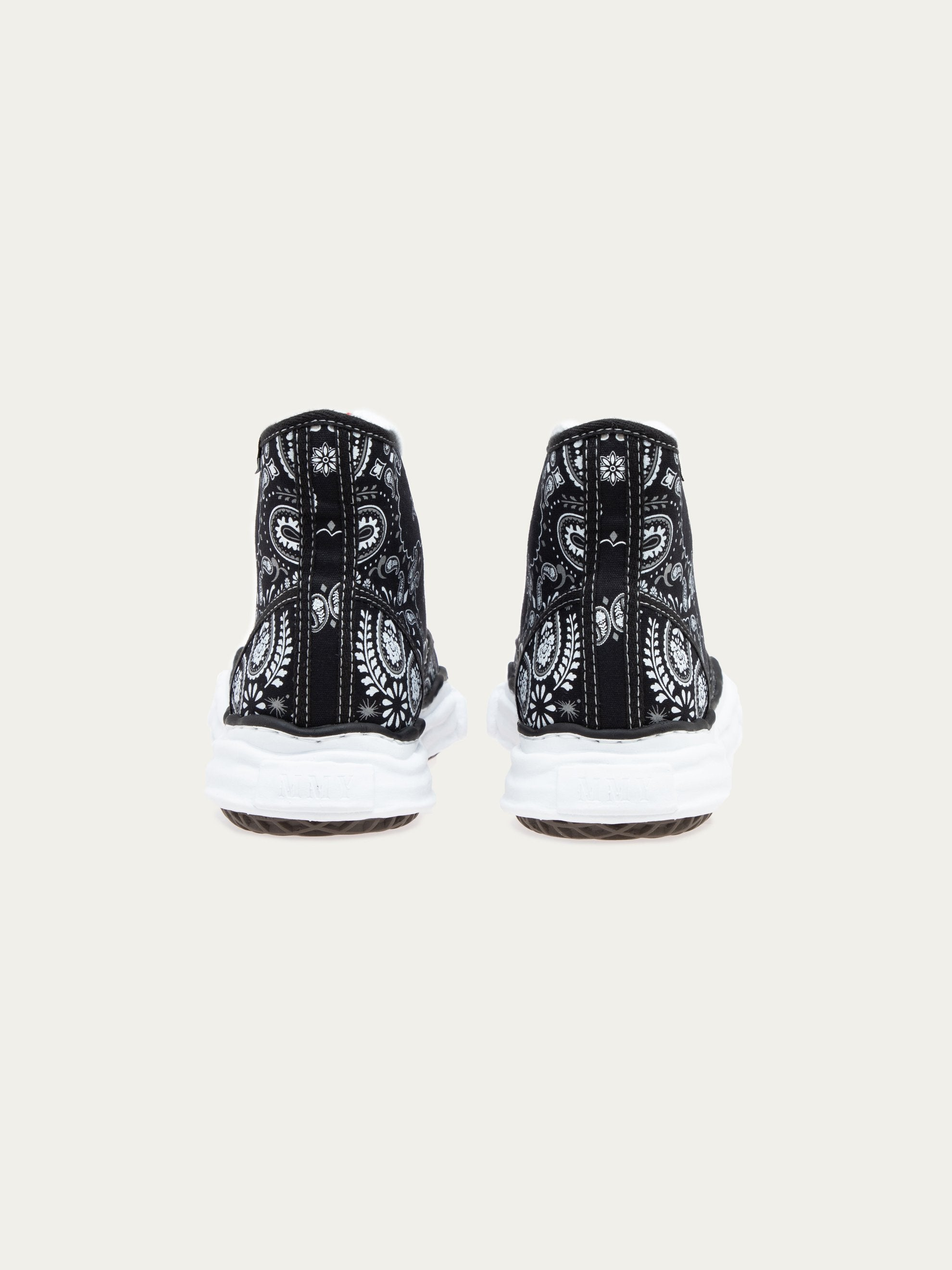Black Peterson Hi Original Sole Bandana Printed Sneaker 5