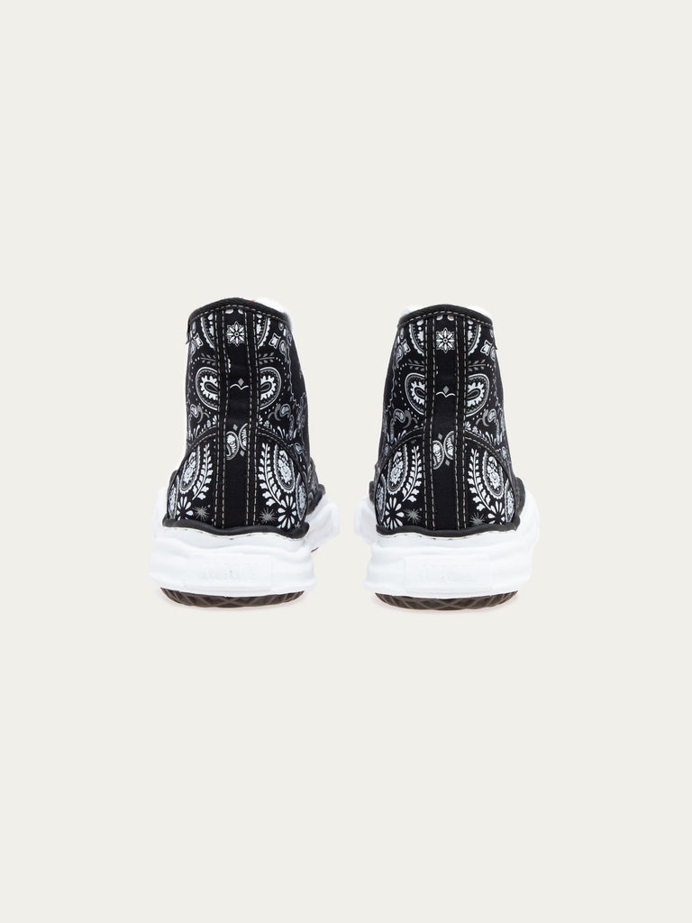 Black Peterson Hi Original Sole Bandana Printed Sneaker 516306722504781