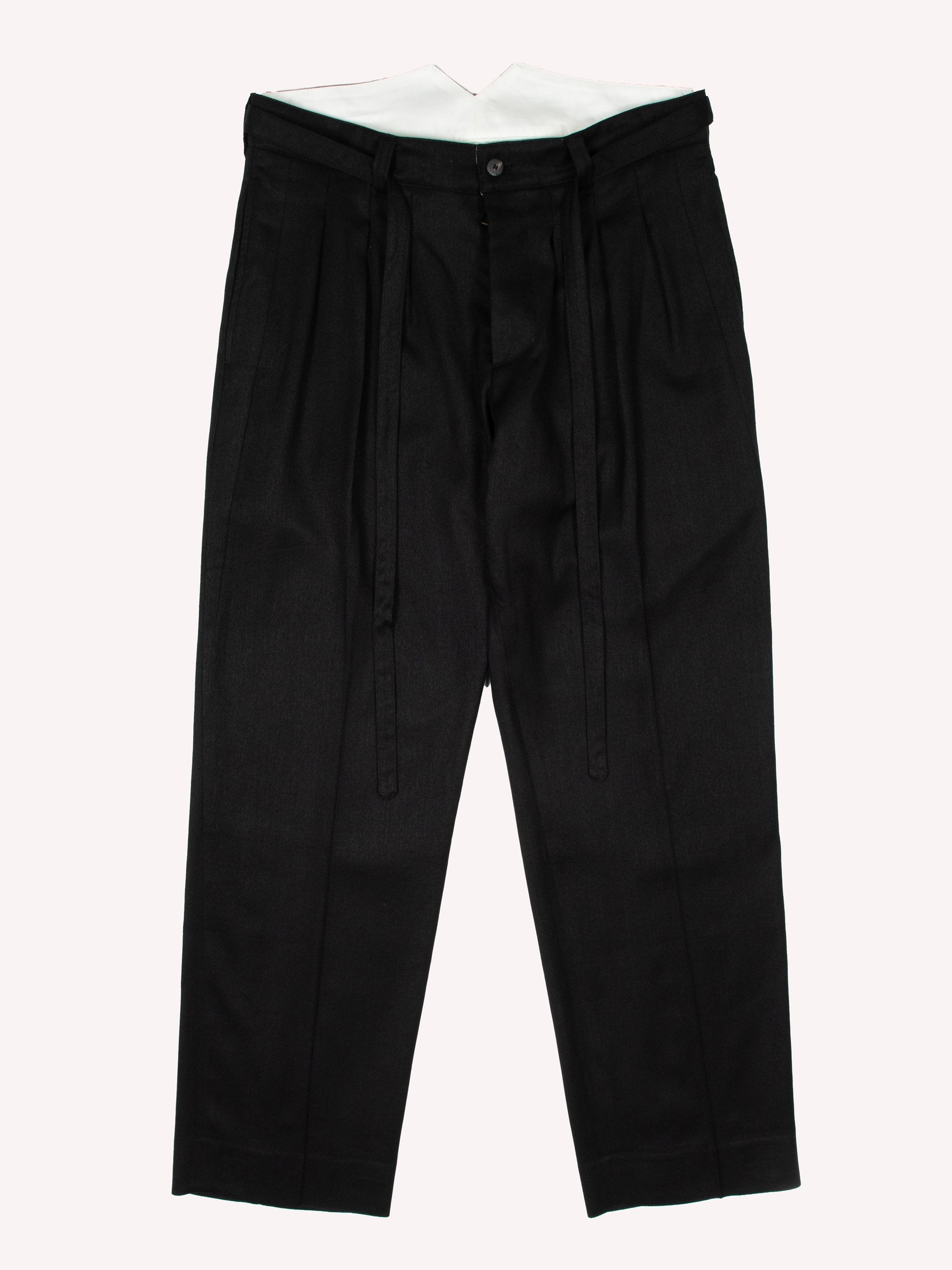 Black Hakama Pants 1