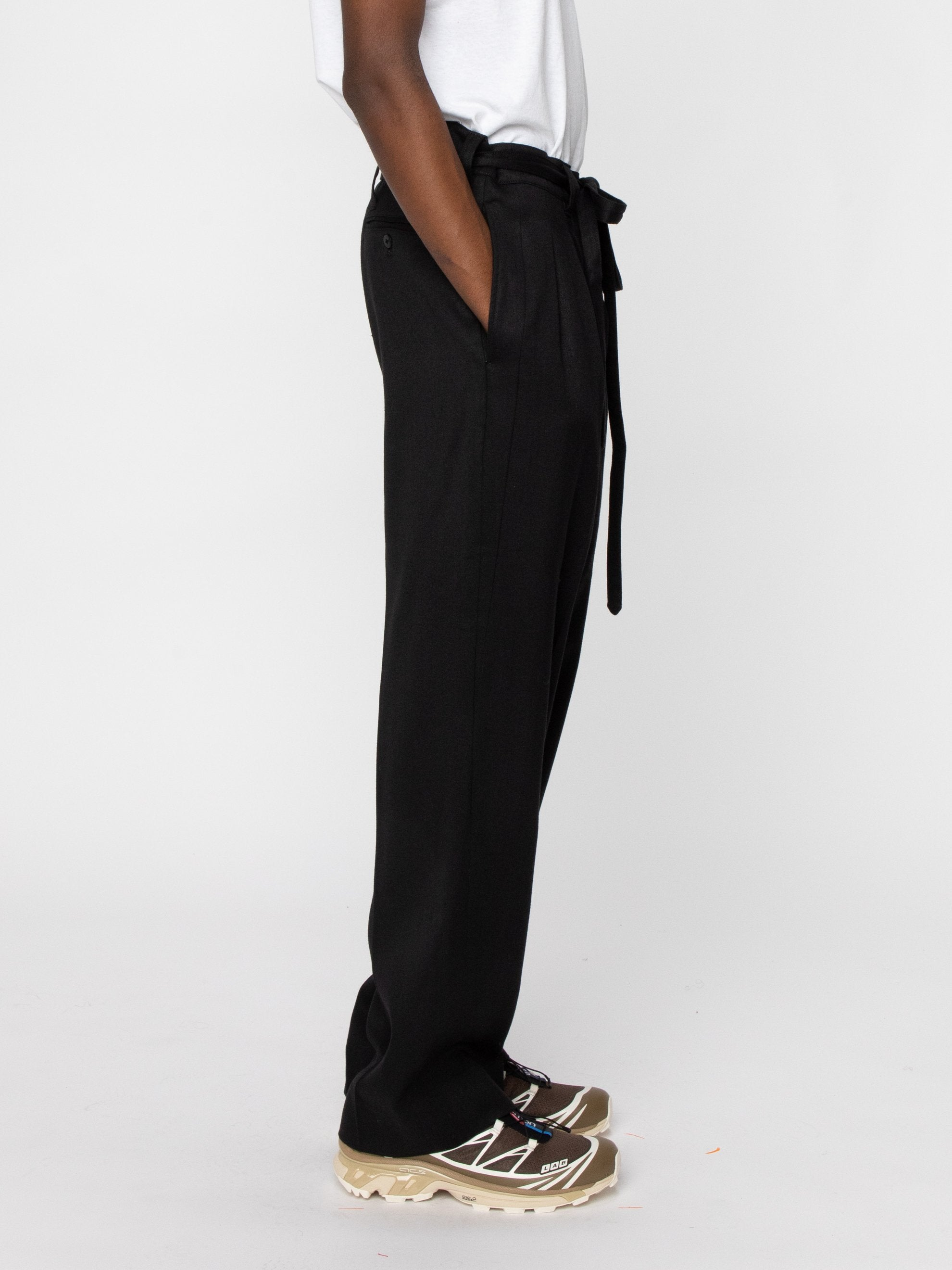 Black Hakama Pants 4