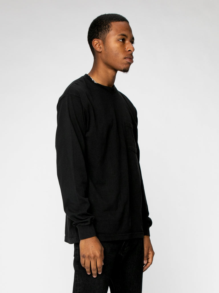 Any More ?'s L/S Pocket Tee16327584055373