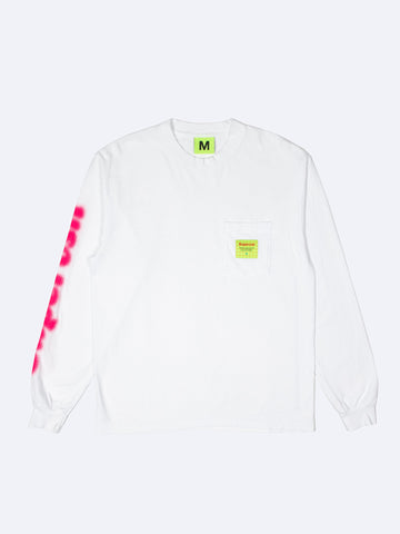 Supervsn Blur L/S Pocket Tee