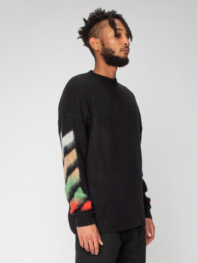 Diag Brushed Crewneck16354316353613