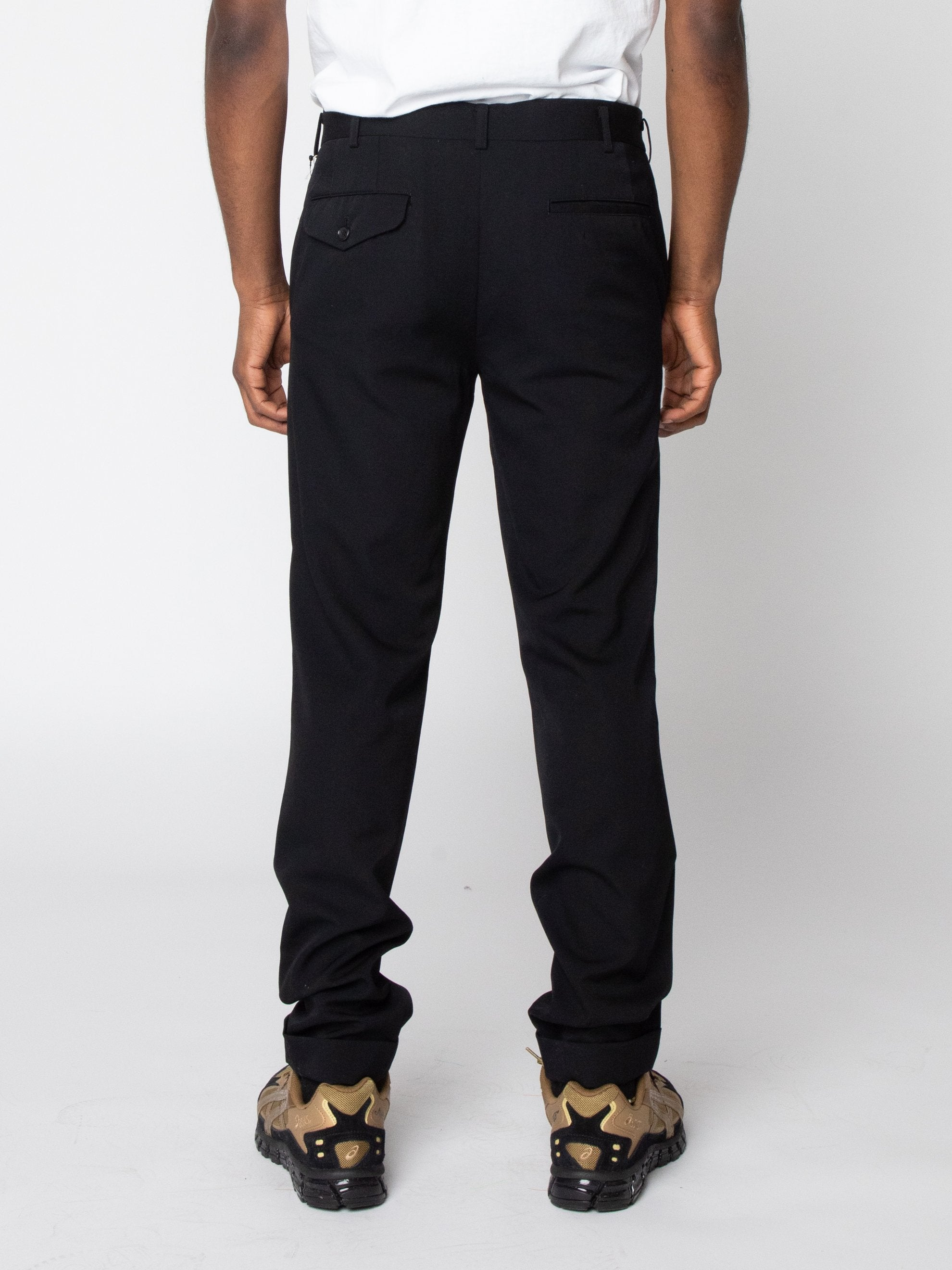 Wool Trouser With Cuff