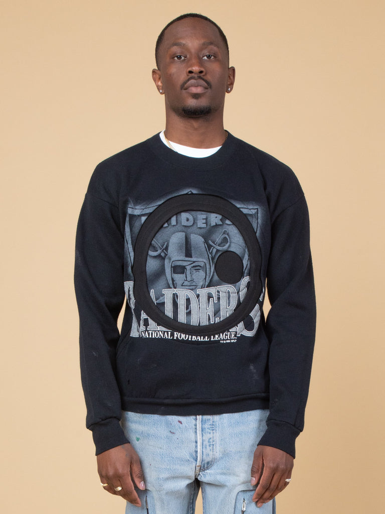Raiders Pocketed Crewneck28038519554125