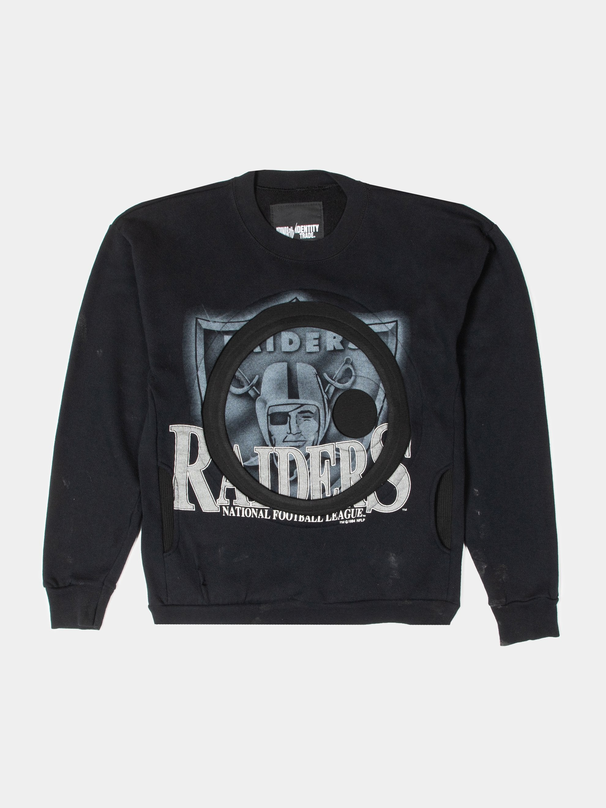 Raiders Pocketed Crewneck