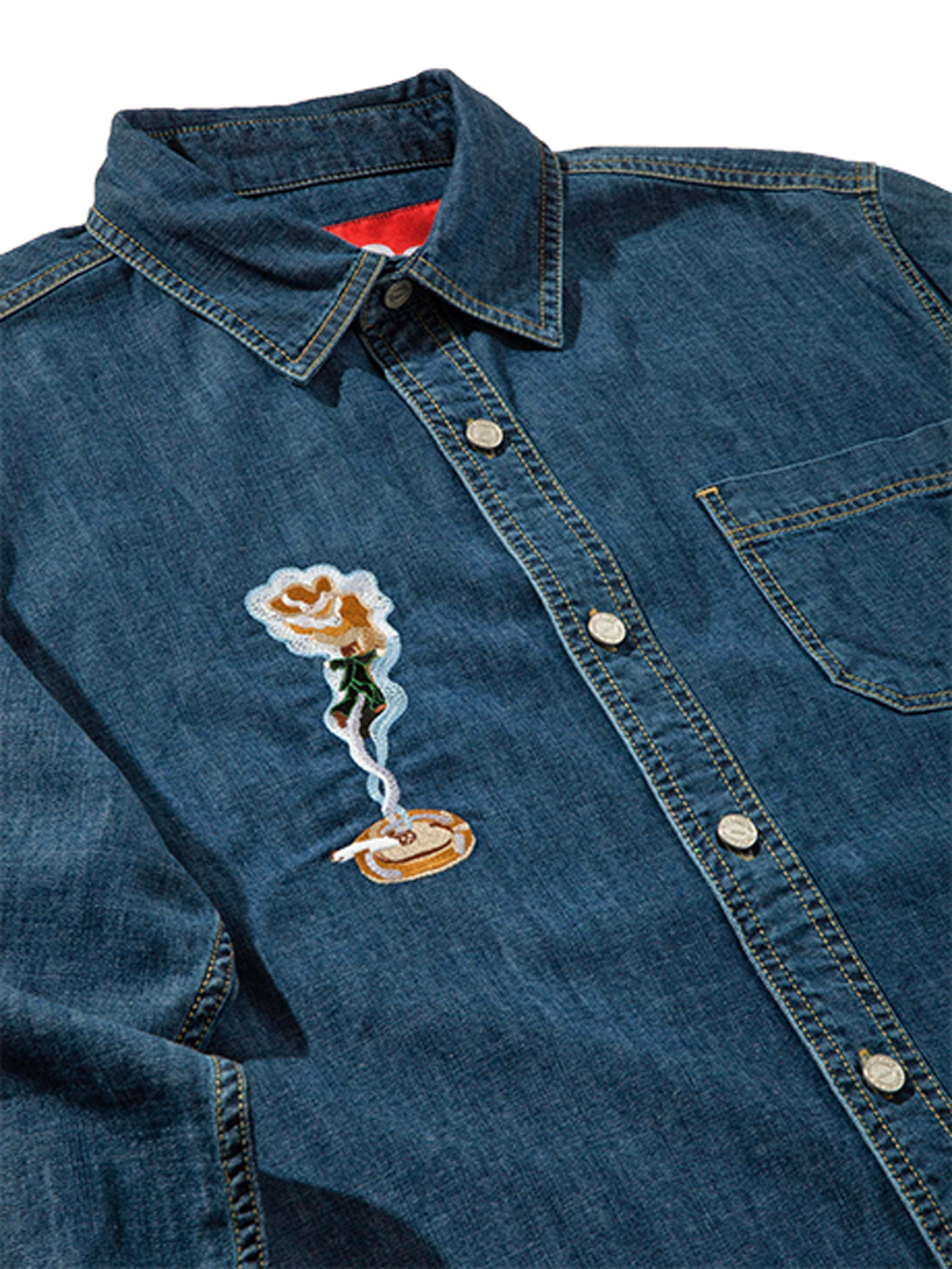 XL Smoker's Collection Jean Shirt 6