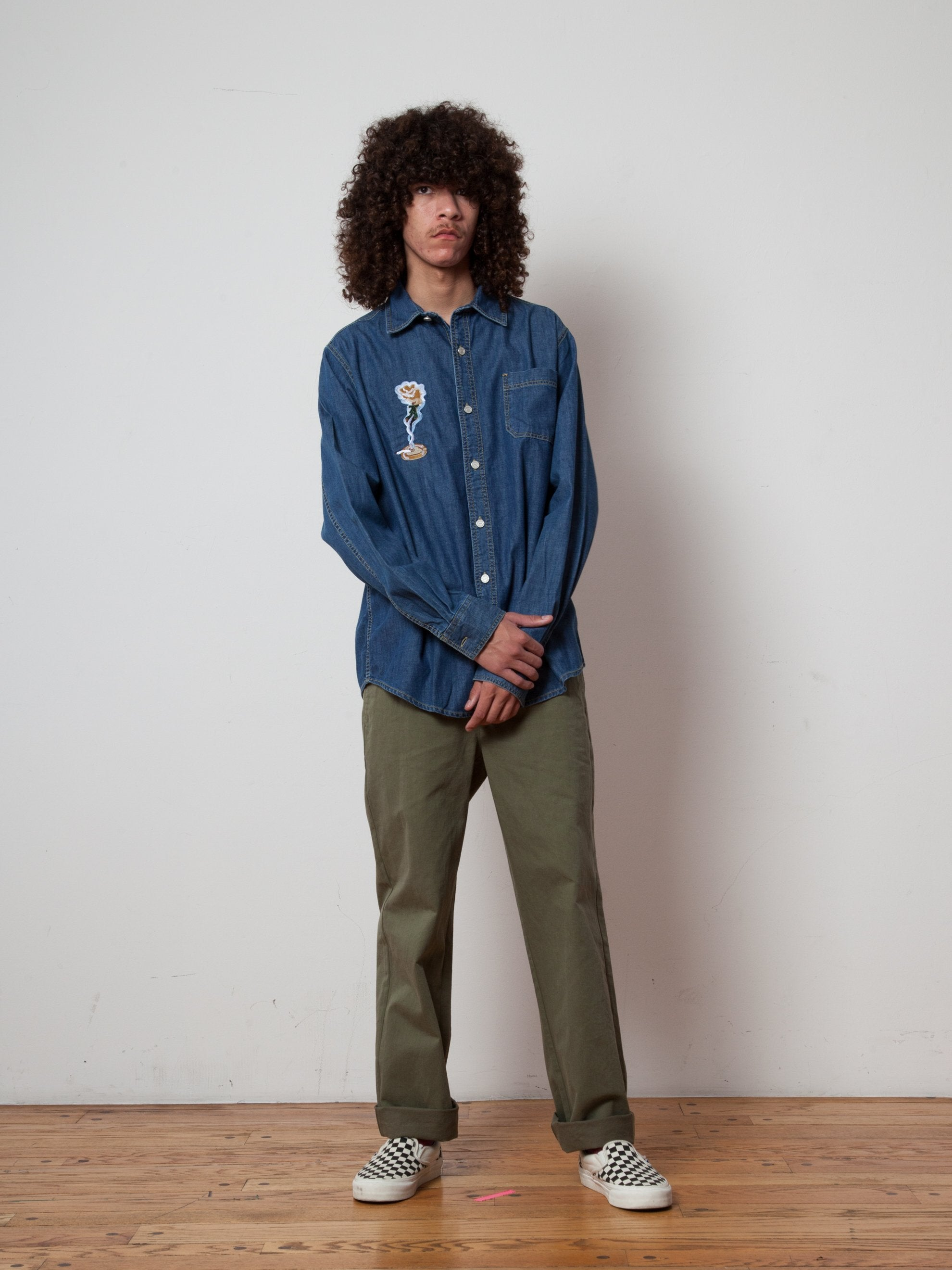XL Smoker's Collection Jean Shirt 5