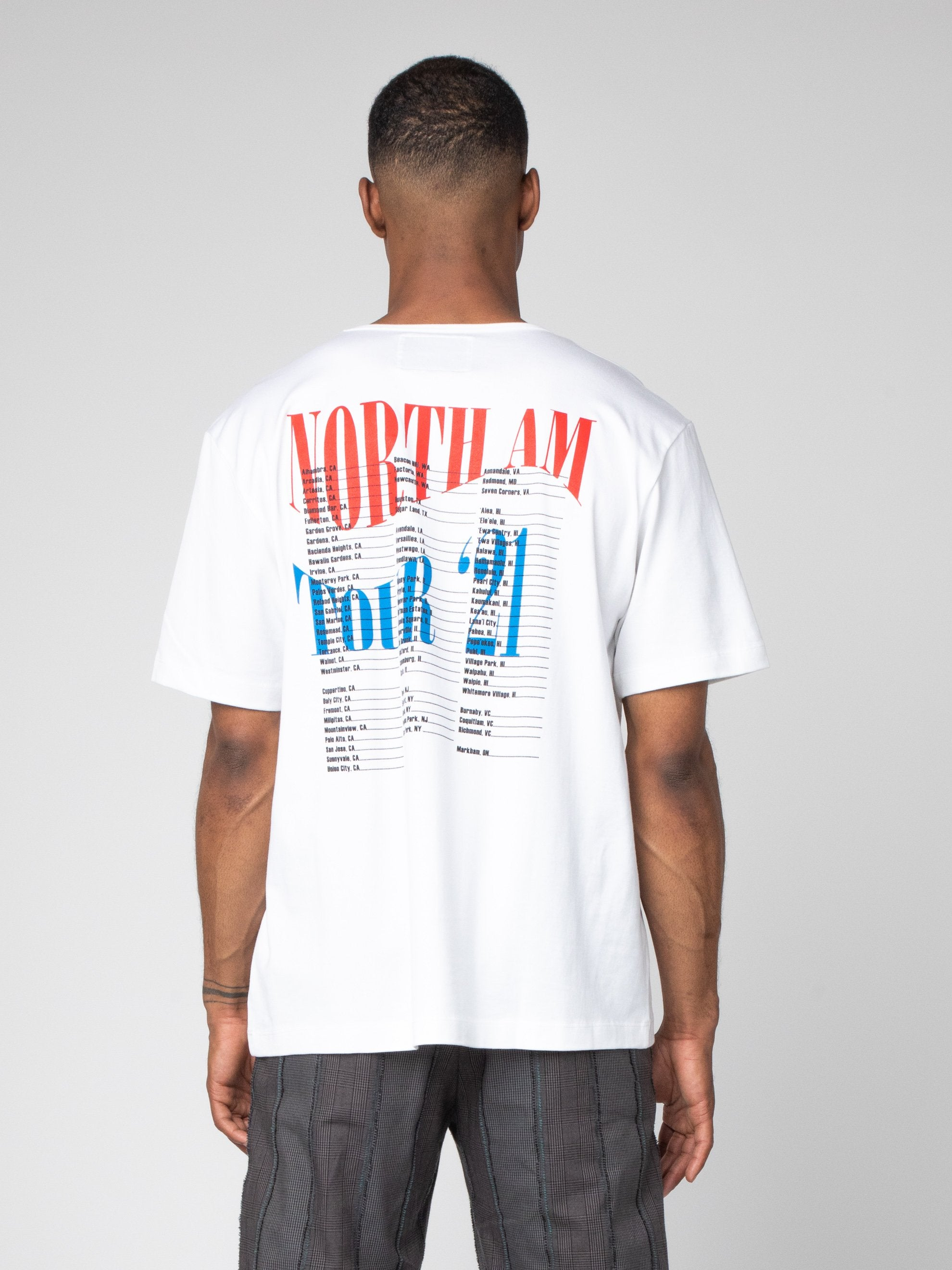 North Am Tour Tee
