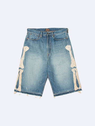 14oz Denim 5P Shorts (Bone)