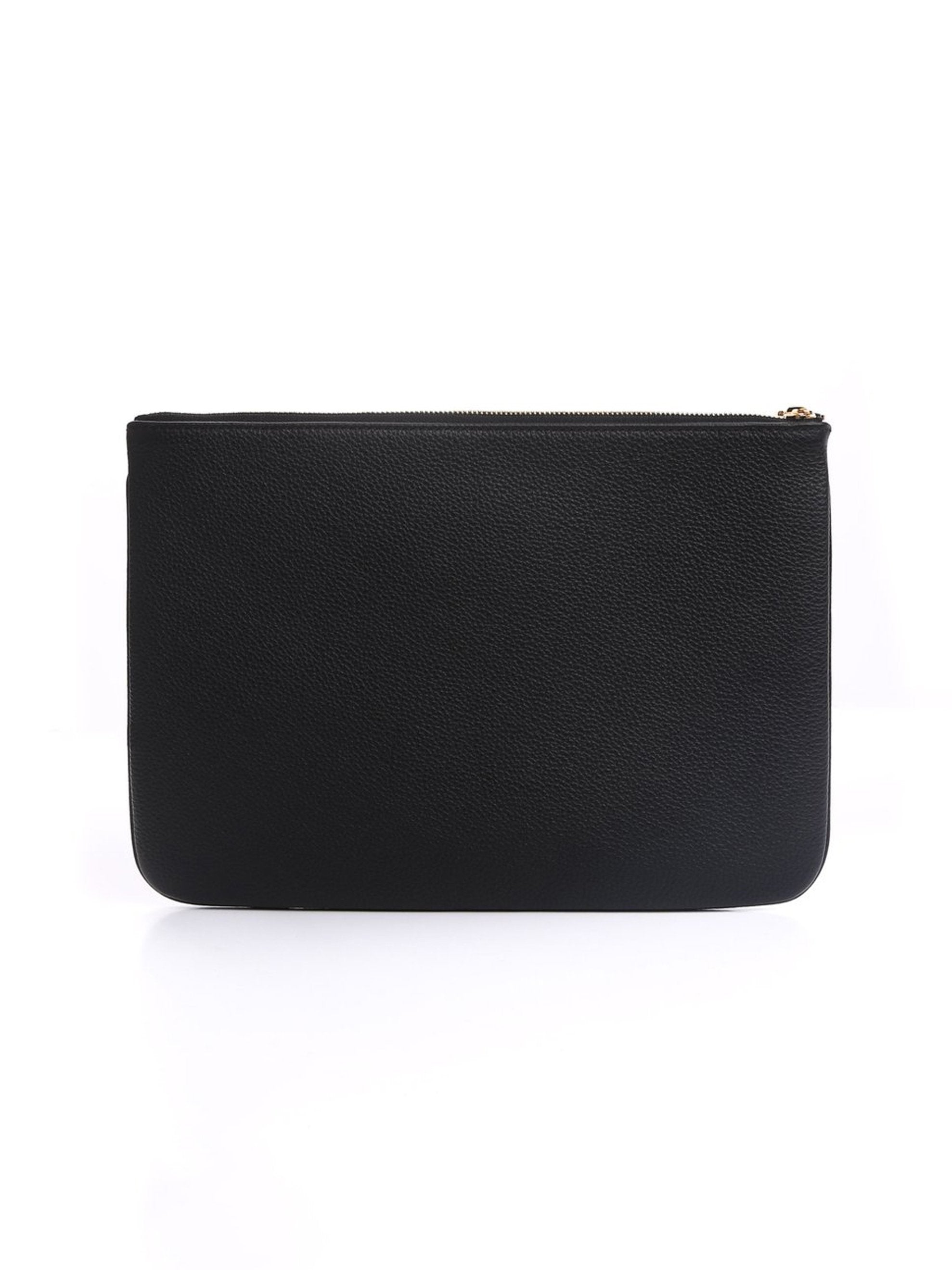 Black Leather Pouch 3
