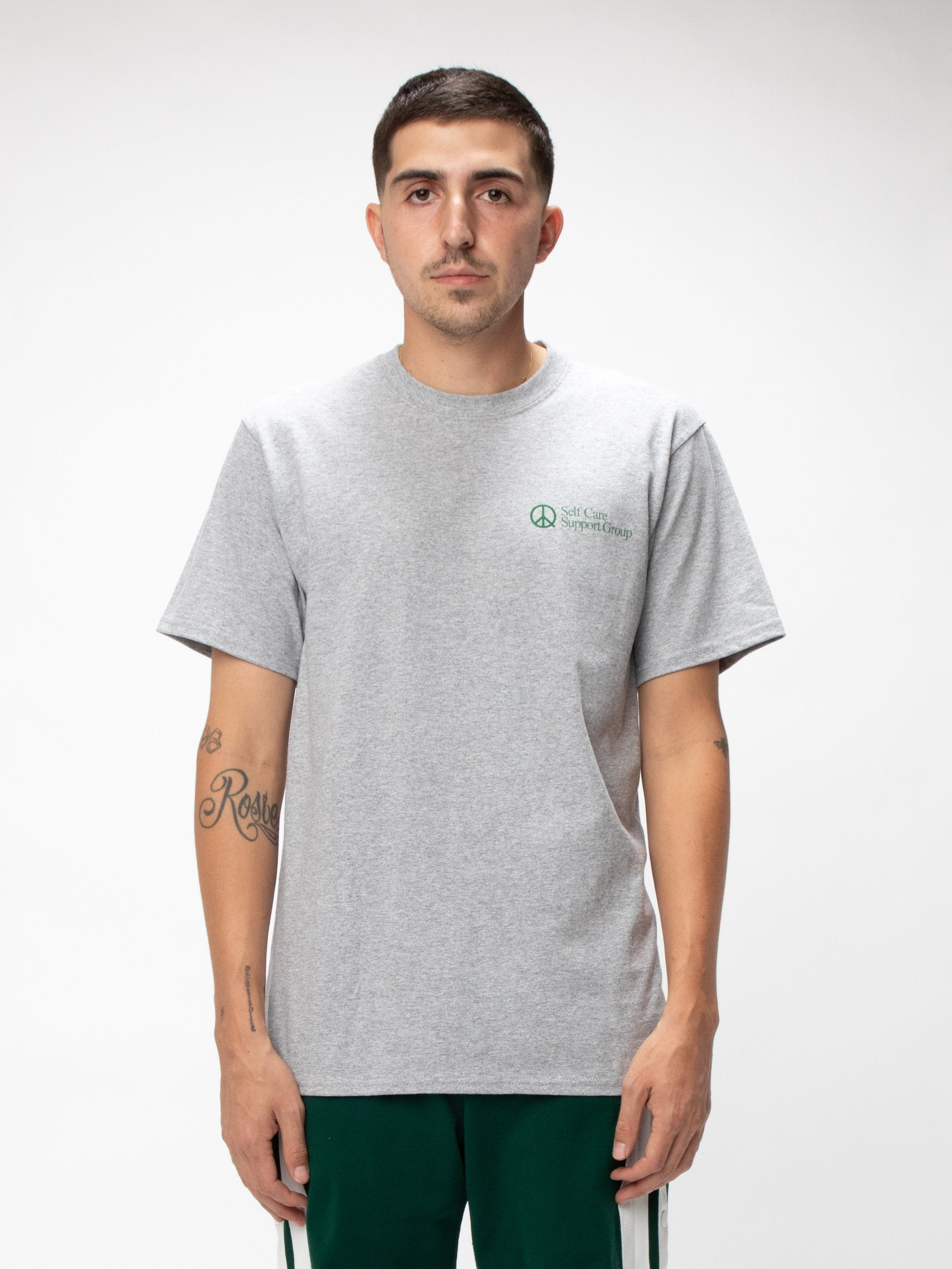 Heather Grey Selfcare T-shirt 3