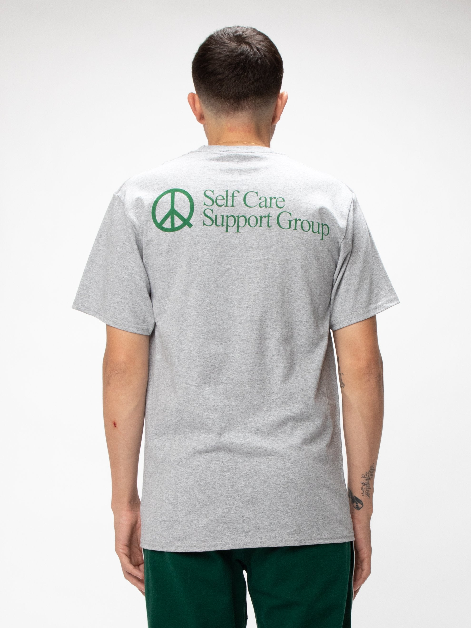 Heather Grey Selfcare T-shirt 6